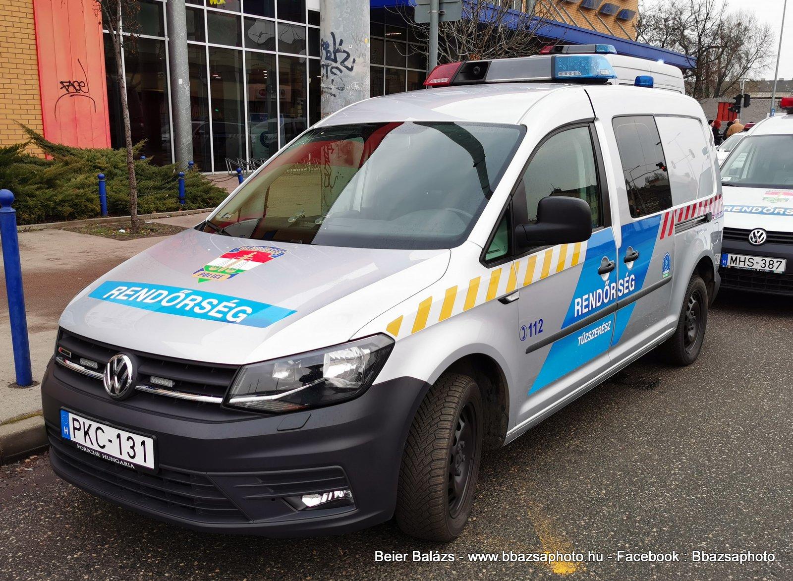 Volkswagen Caddy – KR – Tűzszerész Hella