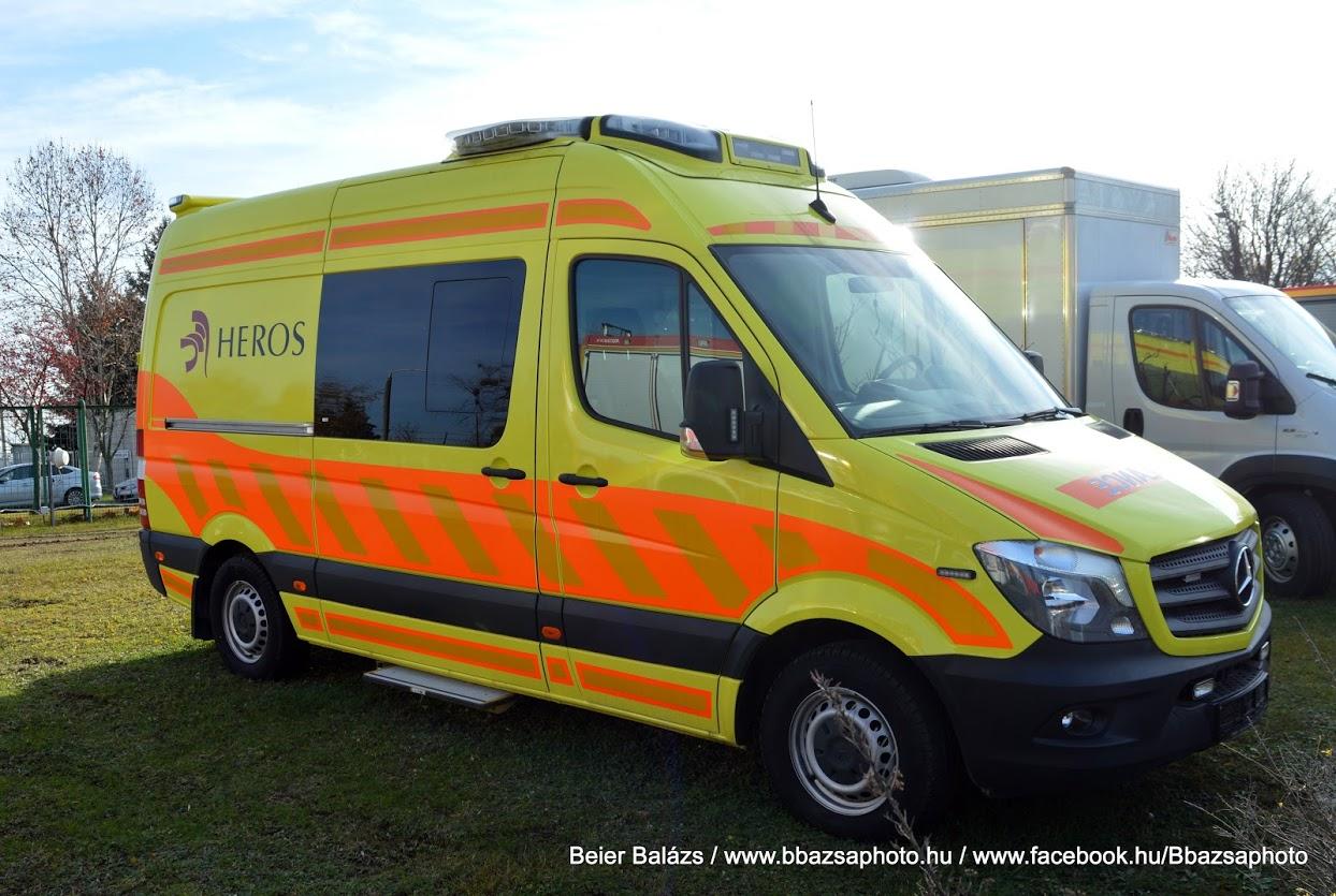 Mercedes Sprinter BM Heros mentő