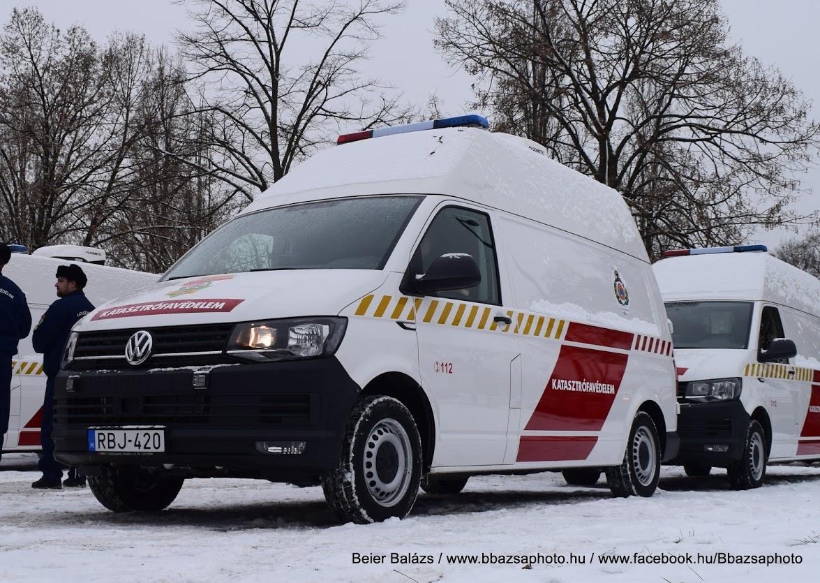 Volkswagen T6 – kritikusinfrastruktúra-védelmi bevetési egység