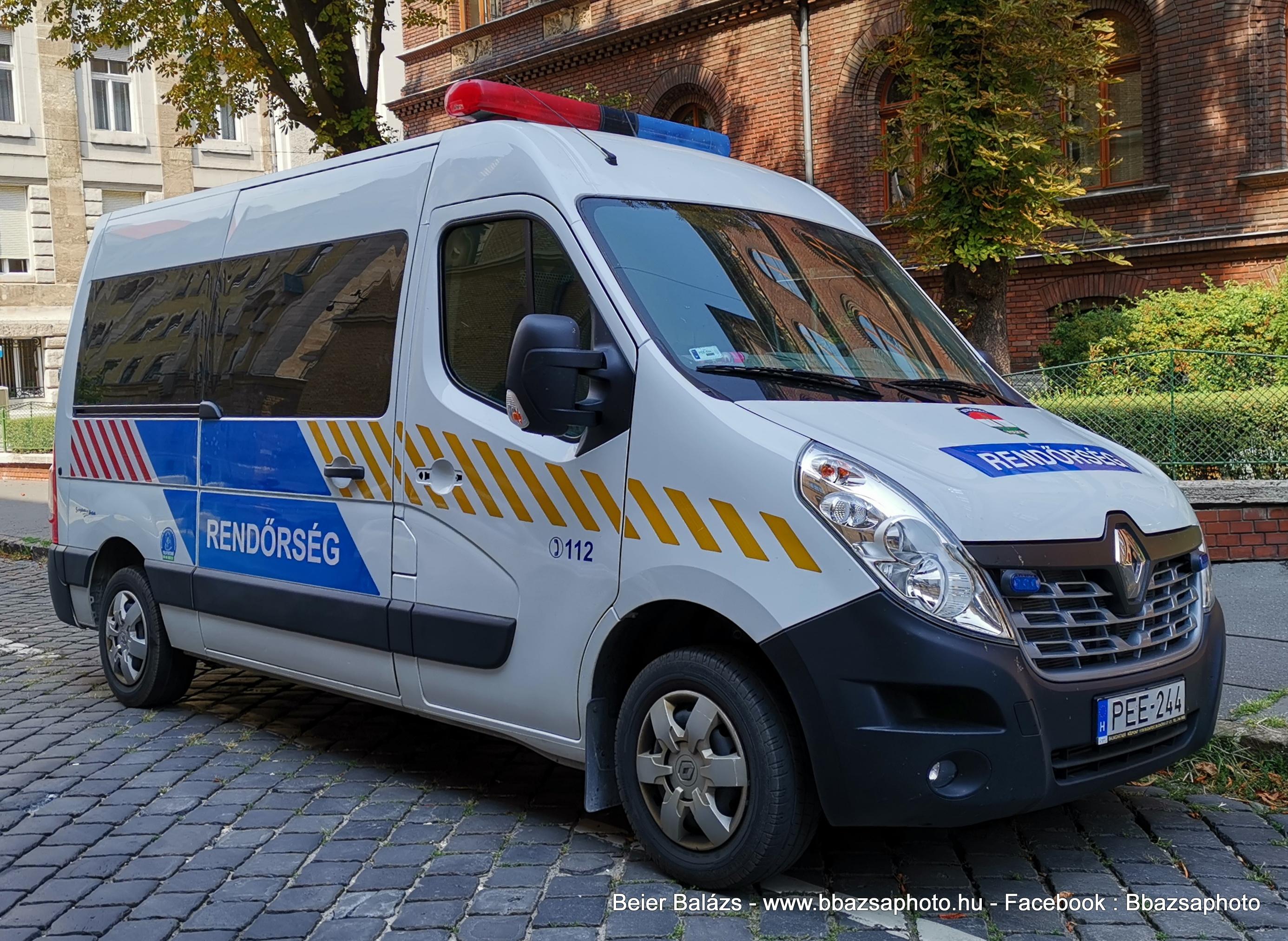 Renault Master – Kényszerutaztató