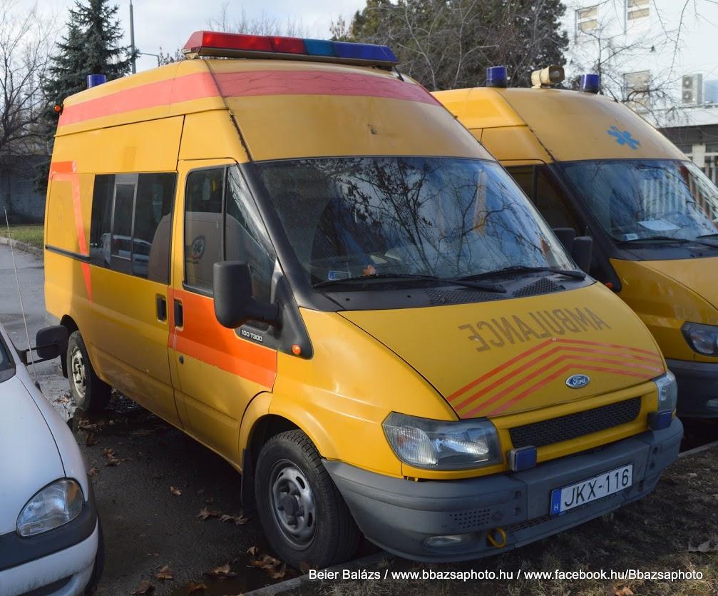 Ford Transit – Pécsi koraszülöttmentő