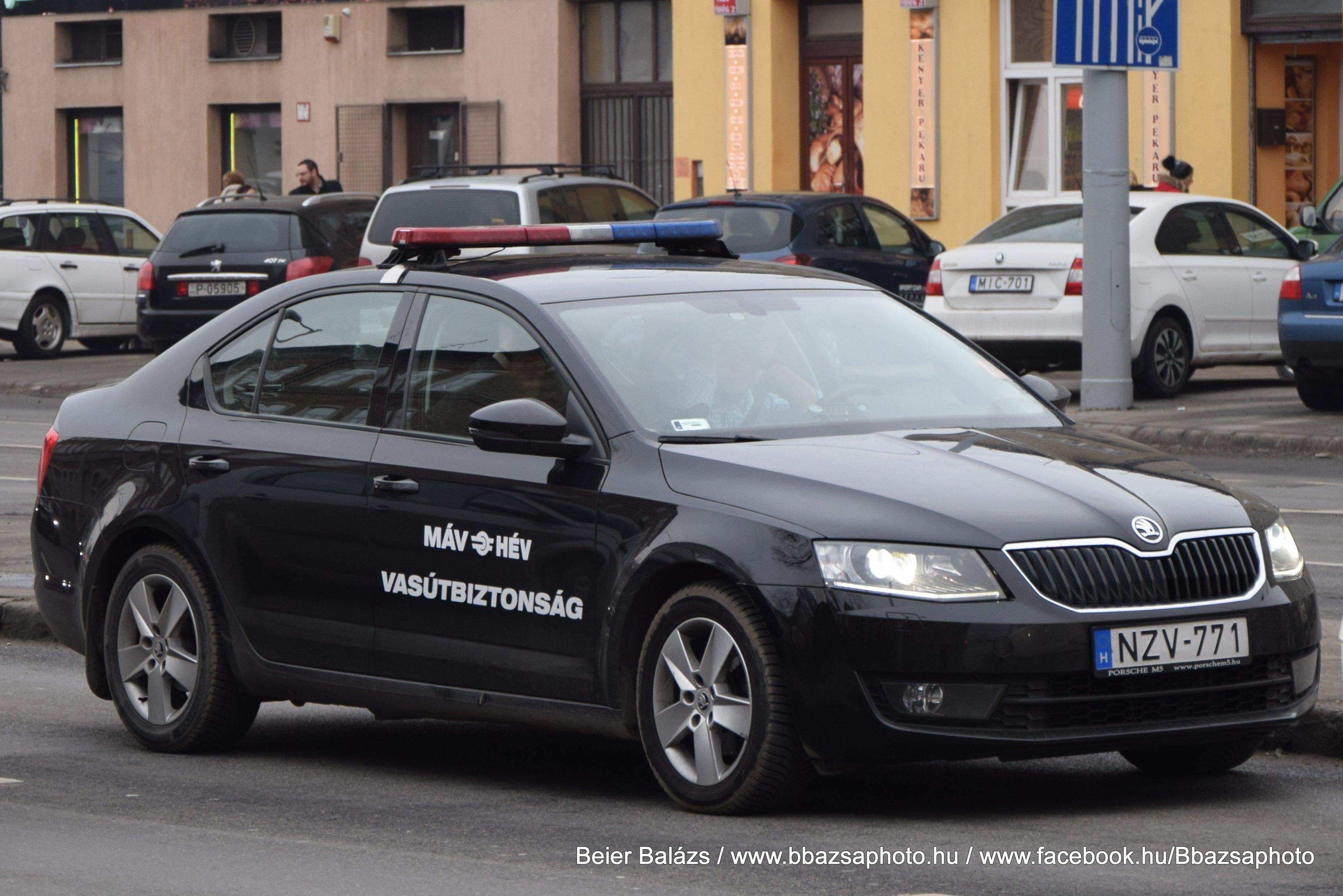 Skoda Octavia – MÁV / HÉV vasútbiztonság