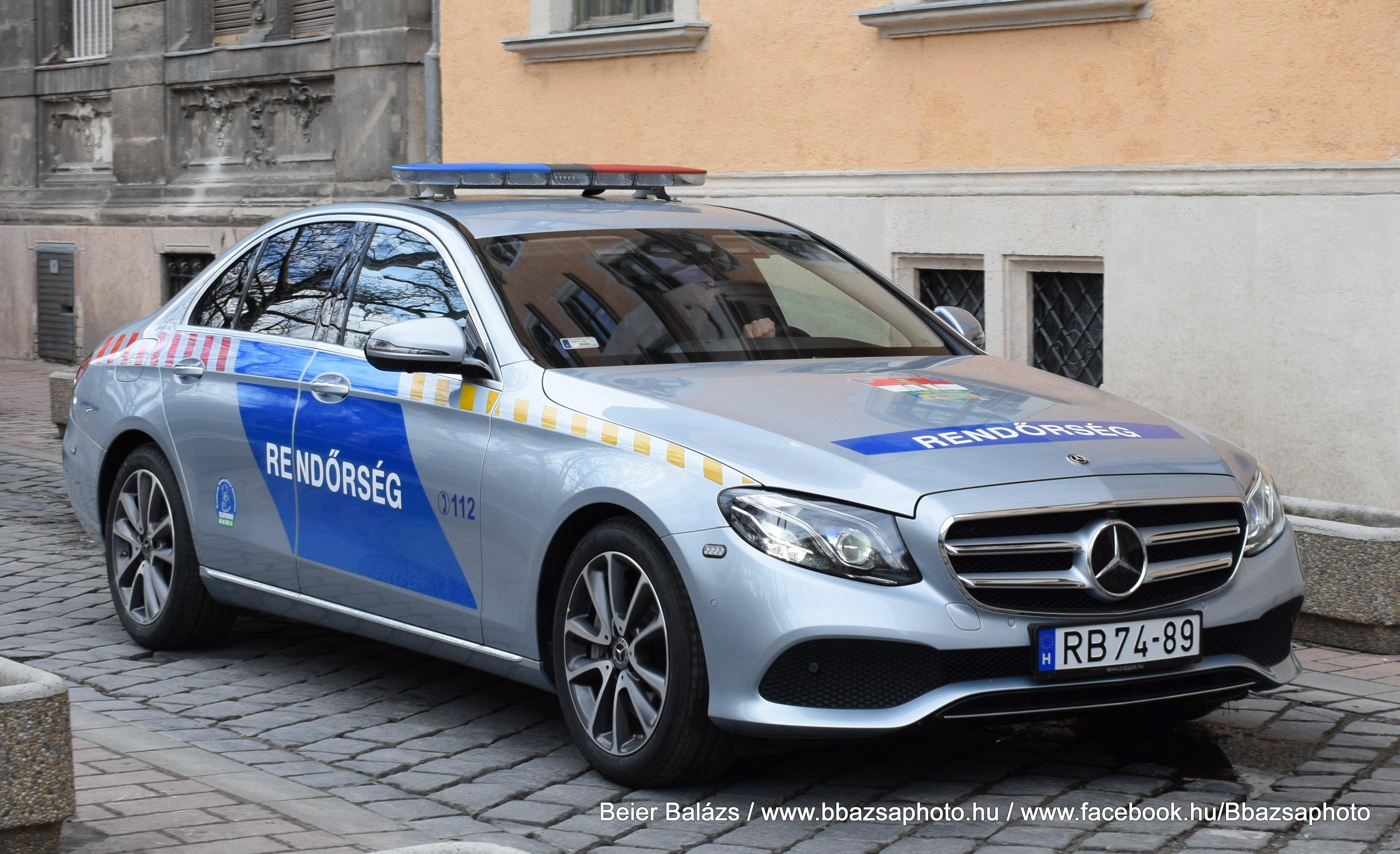 Mercedes E – delegációs
