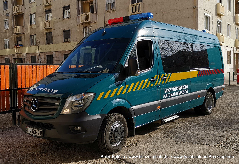 Mercedes Sprinter – Katonai rendészet