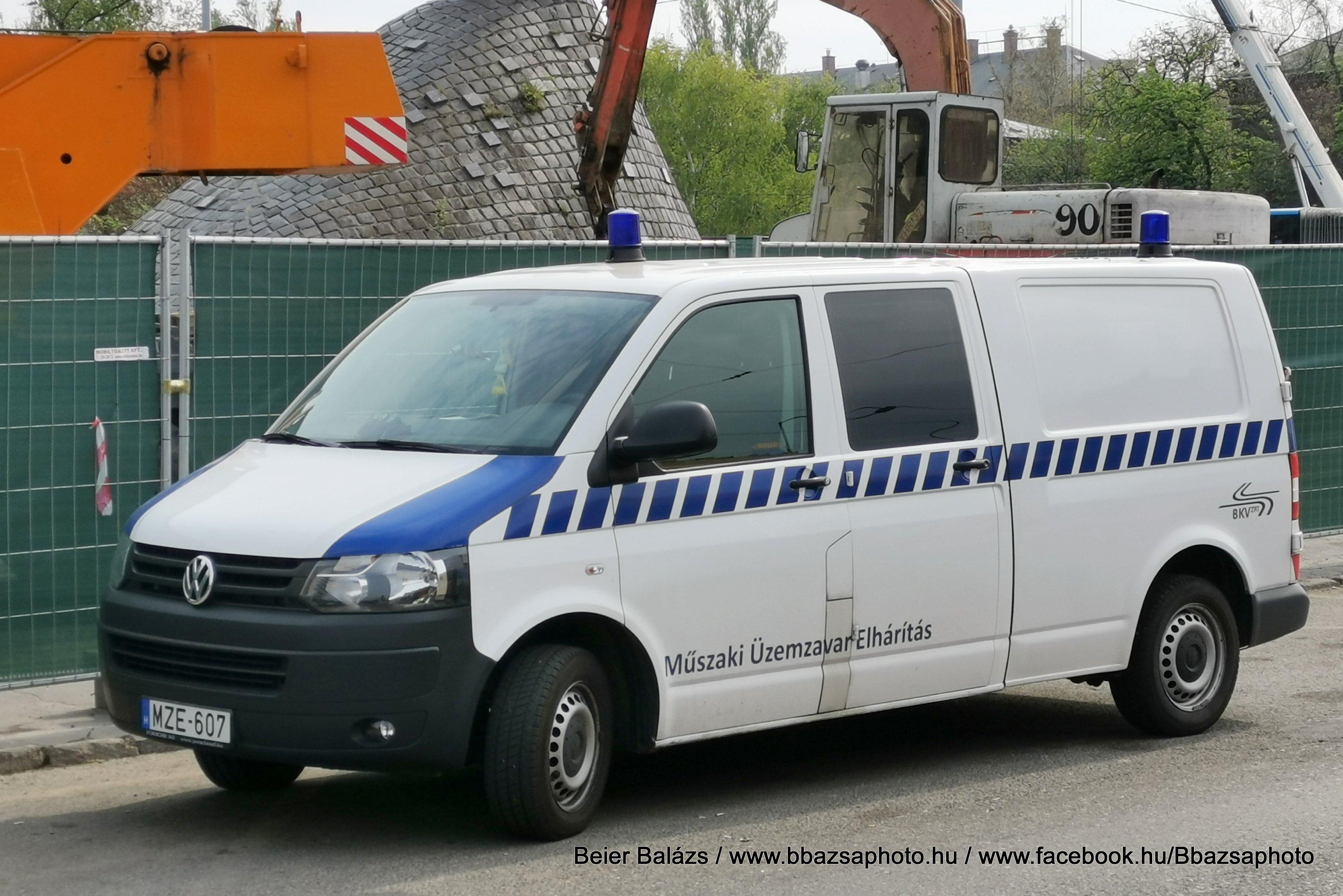 Volkswagen Transporter T5 facelift – BKV két bubi