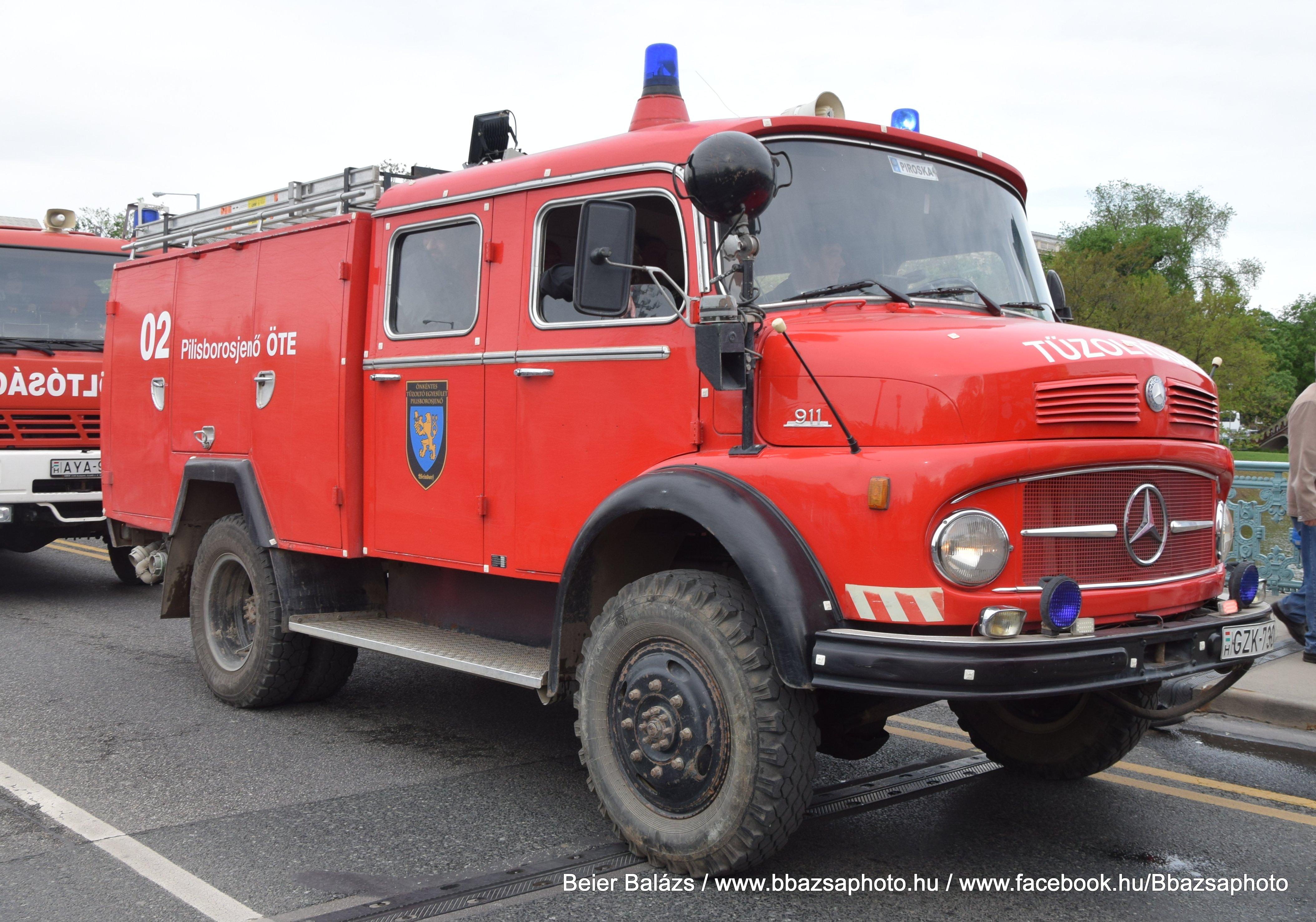 Mercedes 911 – Pilisborosjenő ÖTE 02