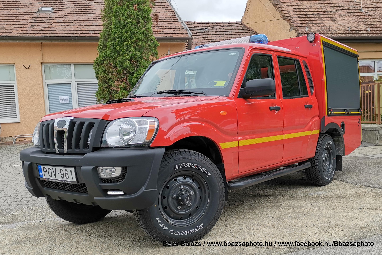Mahindra Pick Up – BM Heros – Fegy Polgárőr és Tűzoltó Egyesület Gyál