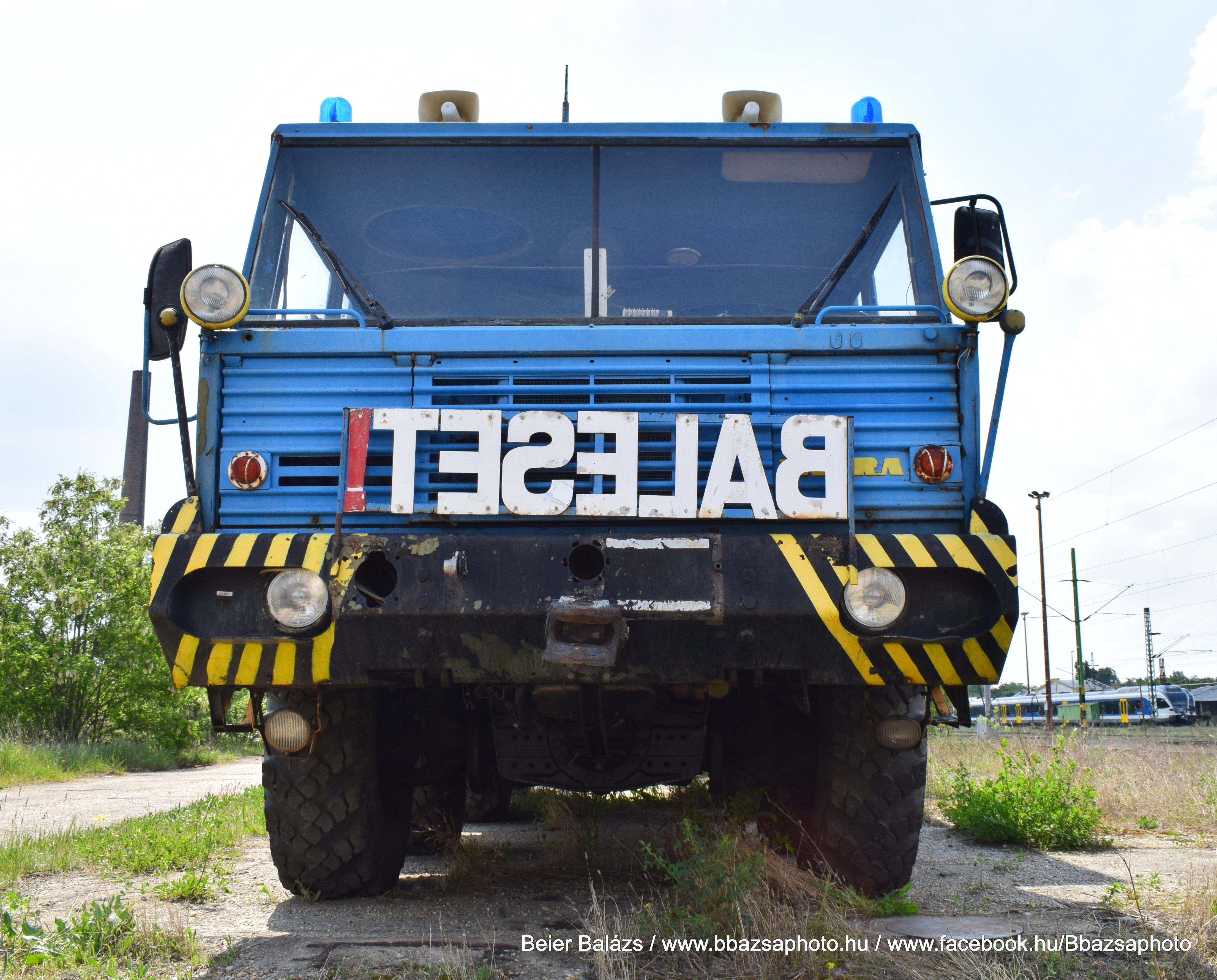 Tatra 813 – Balesetelhárítás