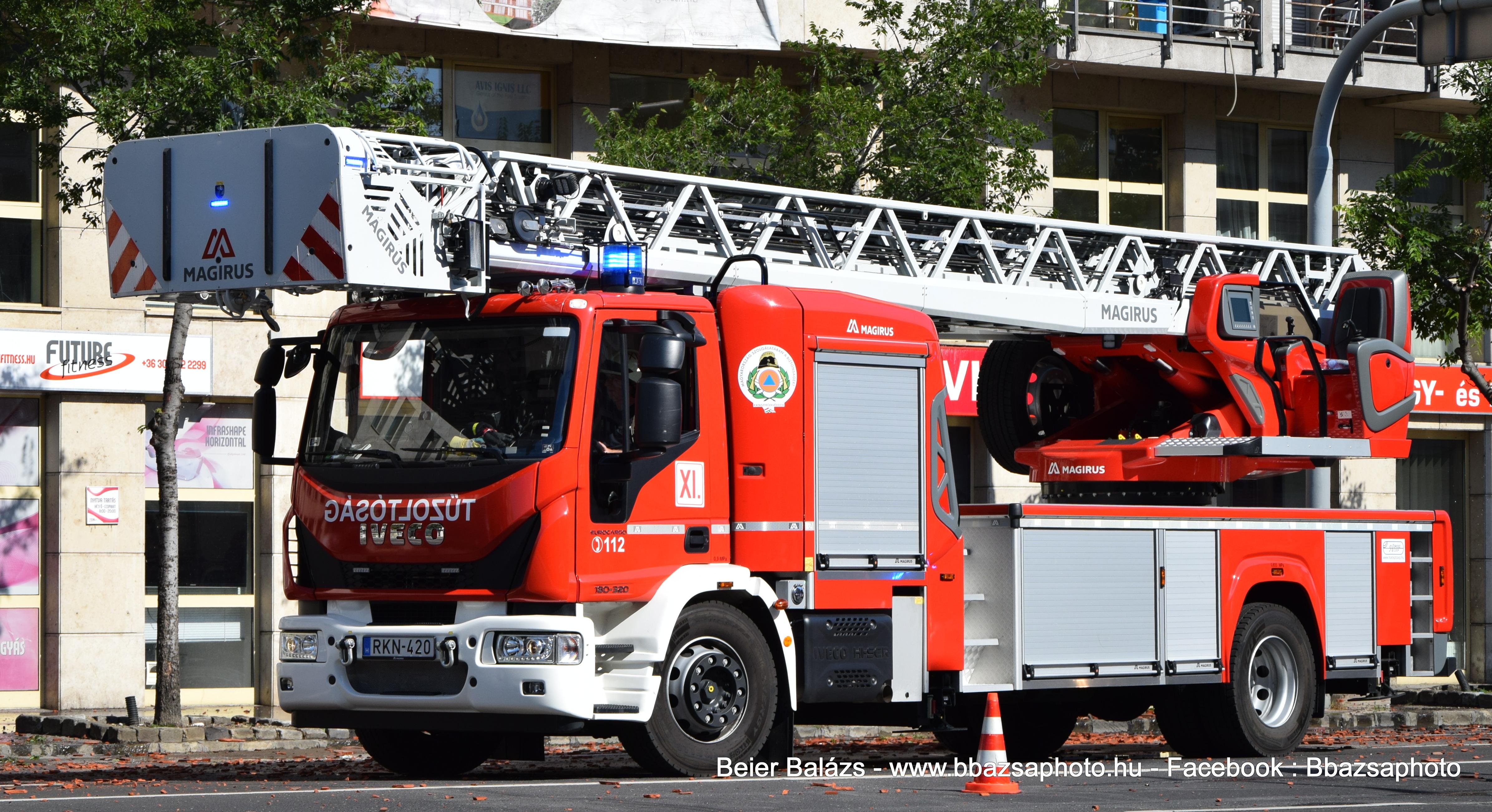 Iveco Eurocargo 180/320 Magirus M42L-AS – 2019