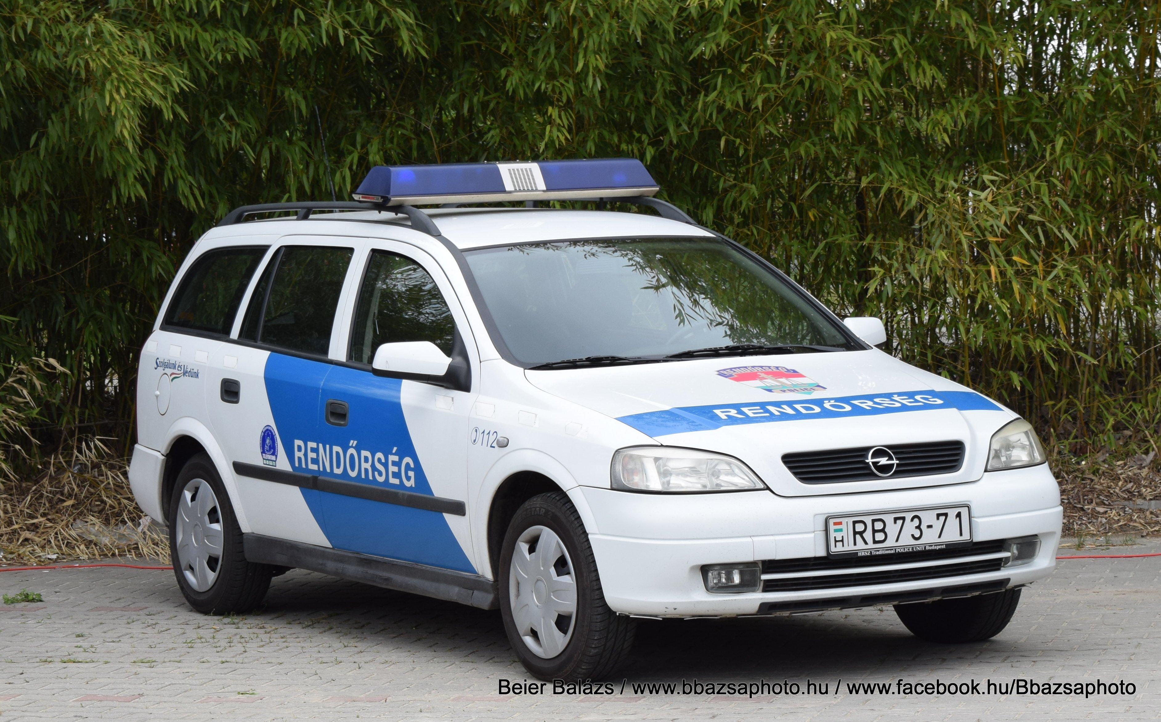 Opel Astra G kombi kék sávos
