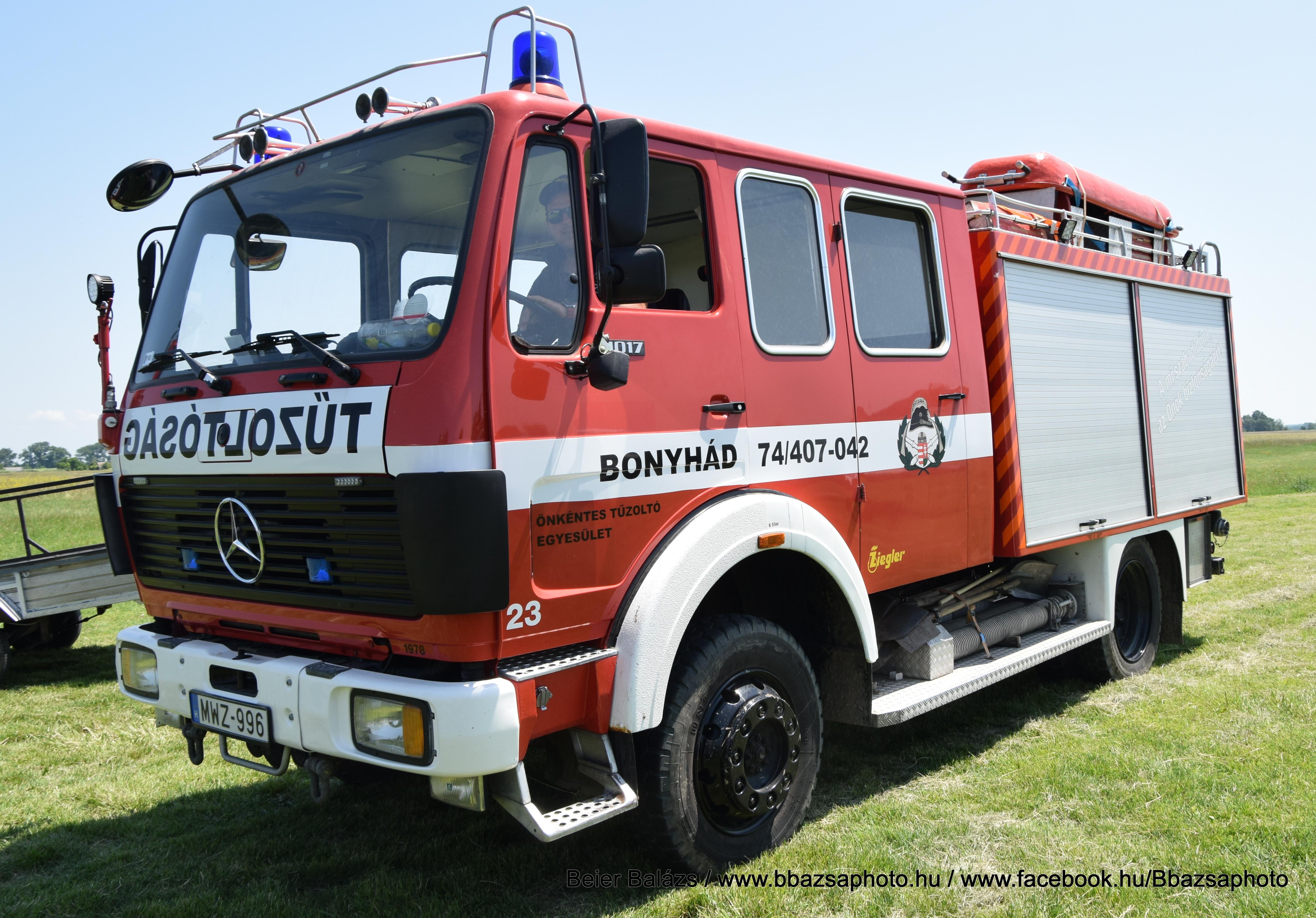 Mercedes 1019 Ziegler – Bonyhád ÖTE