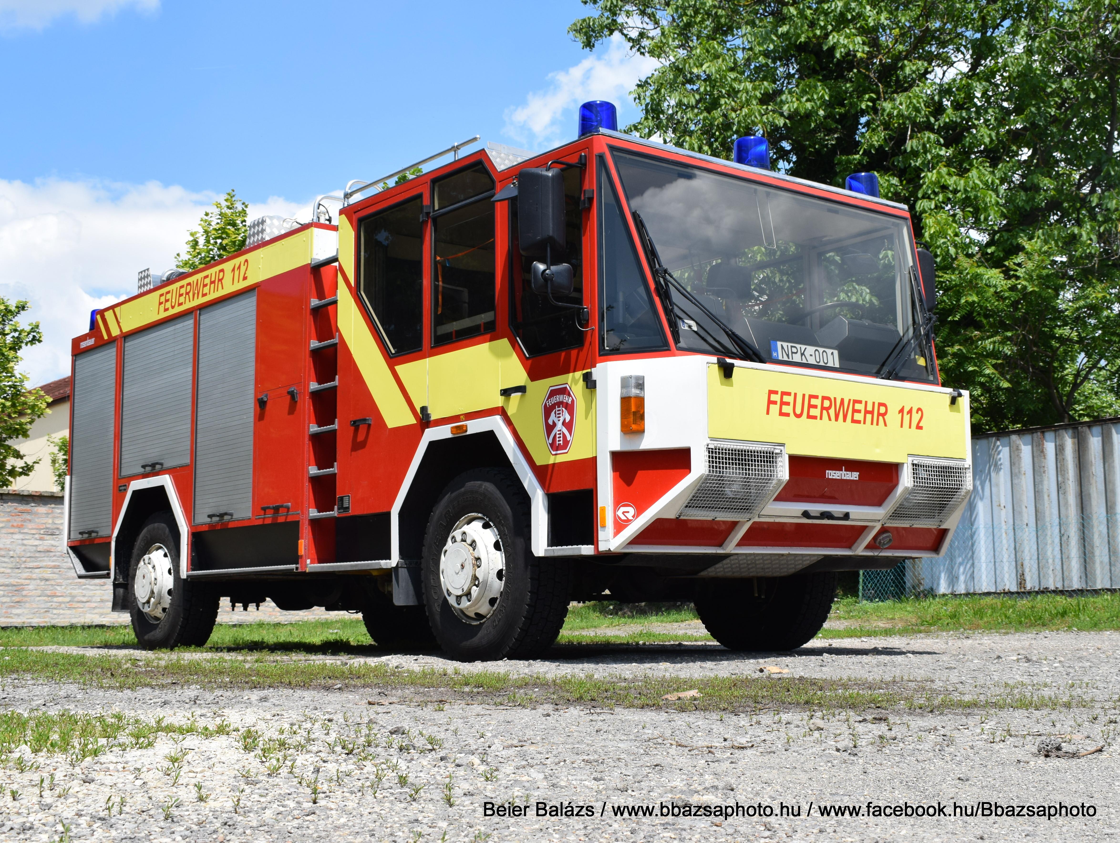 Rosenbauer Falcon Titan – Dunaföldvári Önkéntes Tűzoltó Egyesület