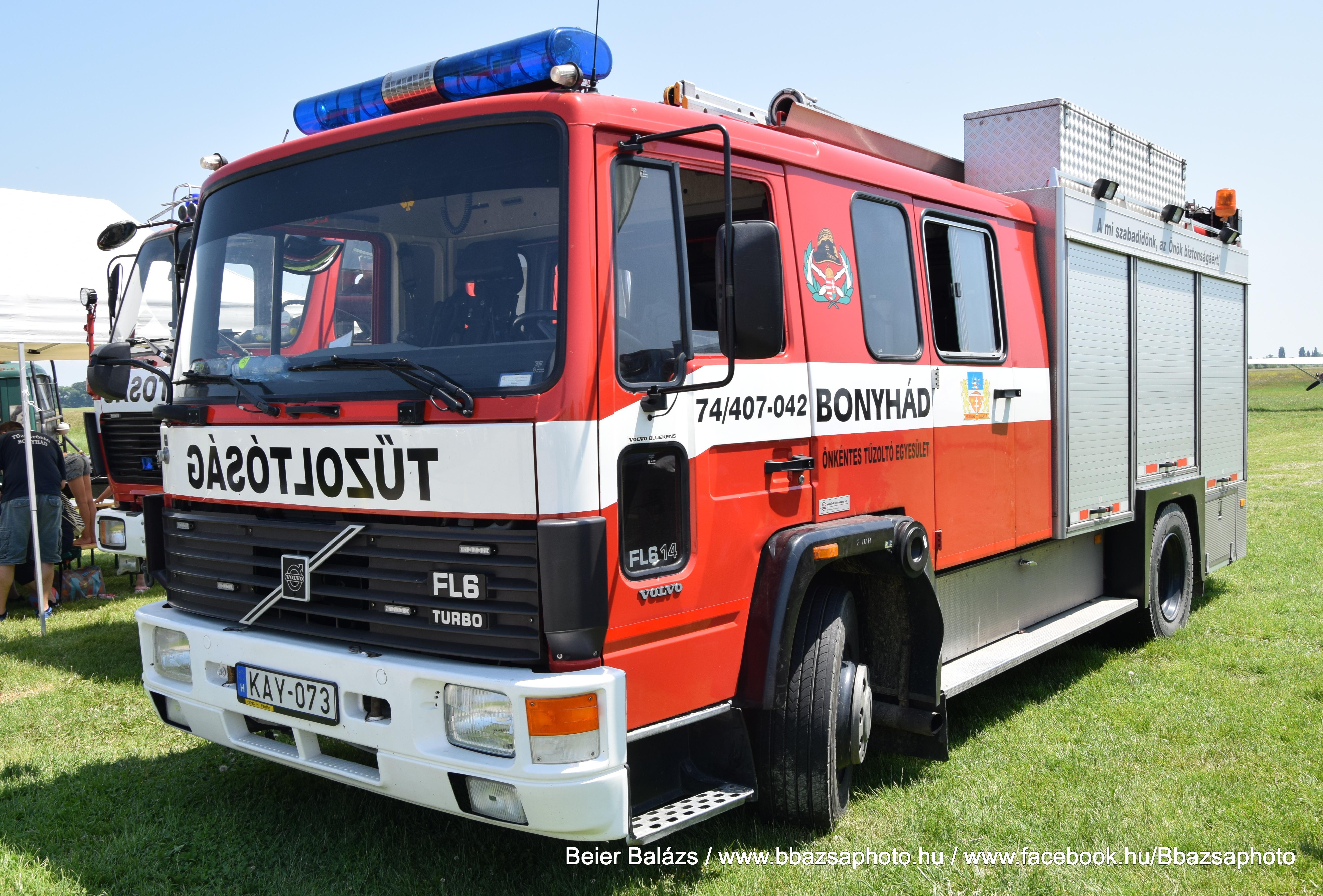 Volvo FL6/14 Turbo – Bonyhád ÖTE