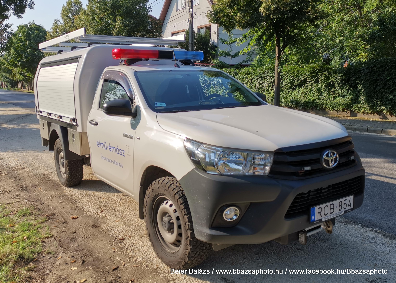Toyota Hilux – Gentili Nucleo Toyota – ELMŰ