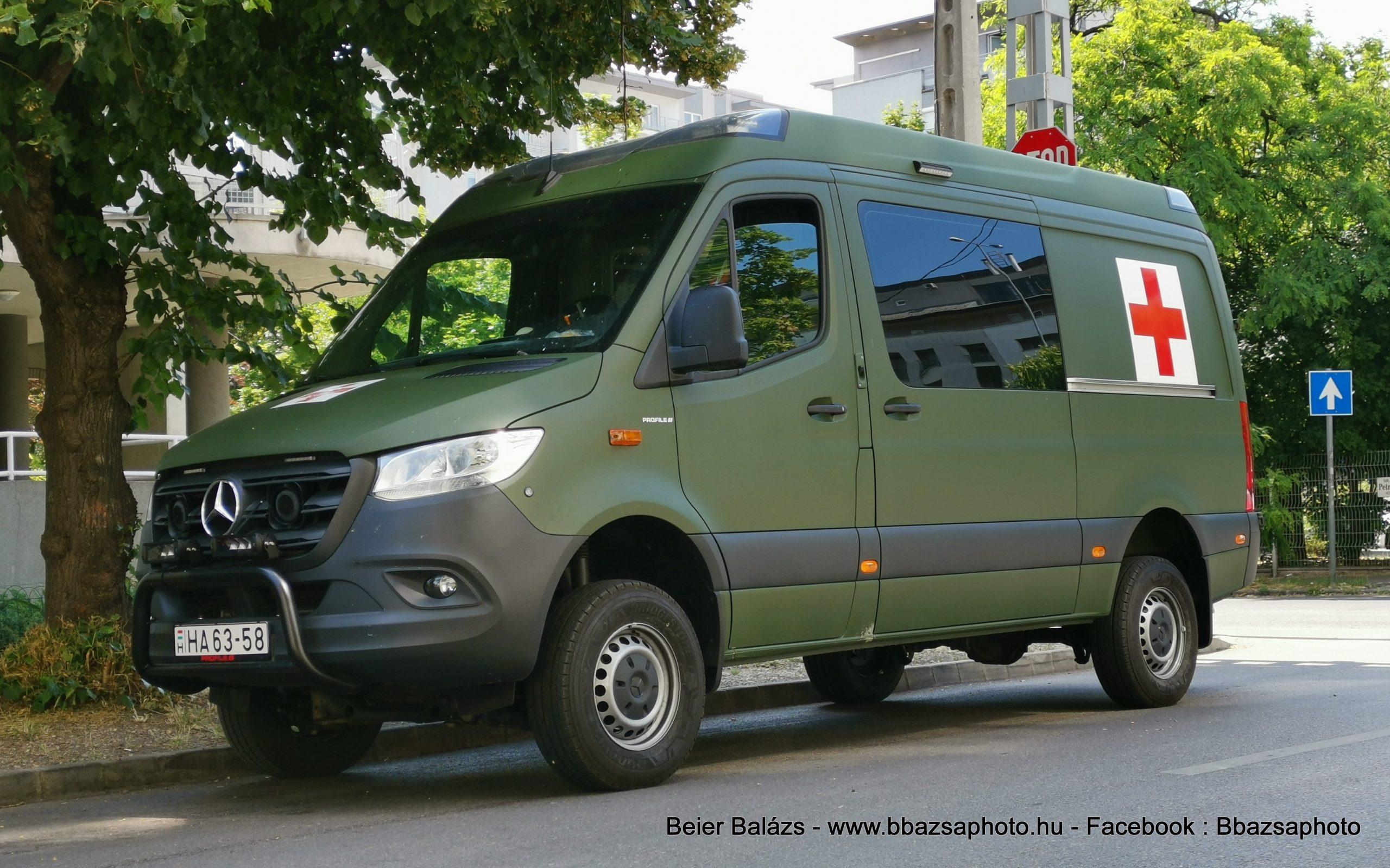 Mercedes Sprinter III – MH EÜ szolgálat  Profile