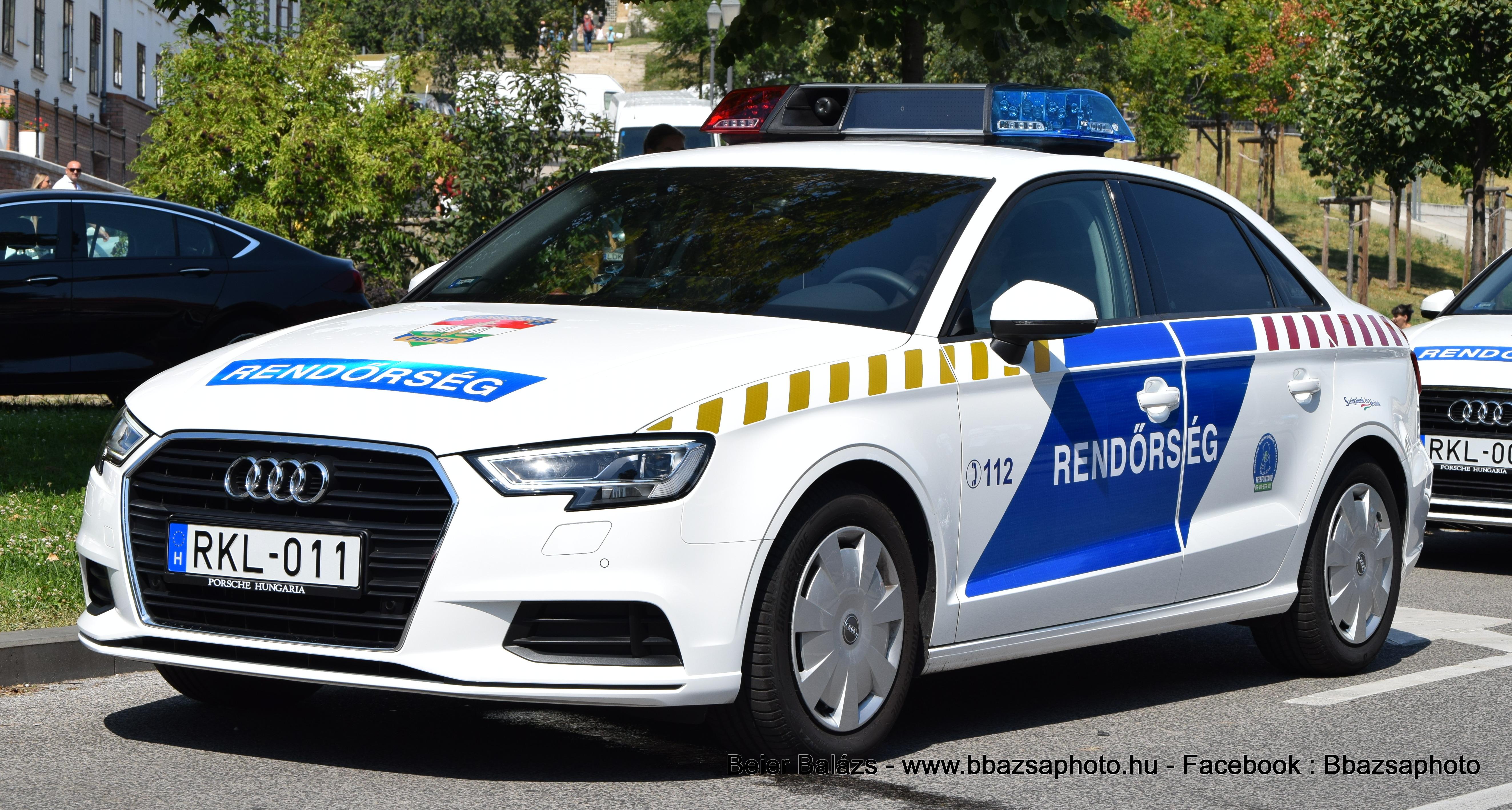 Audi A3 RKL széria