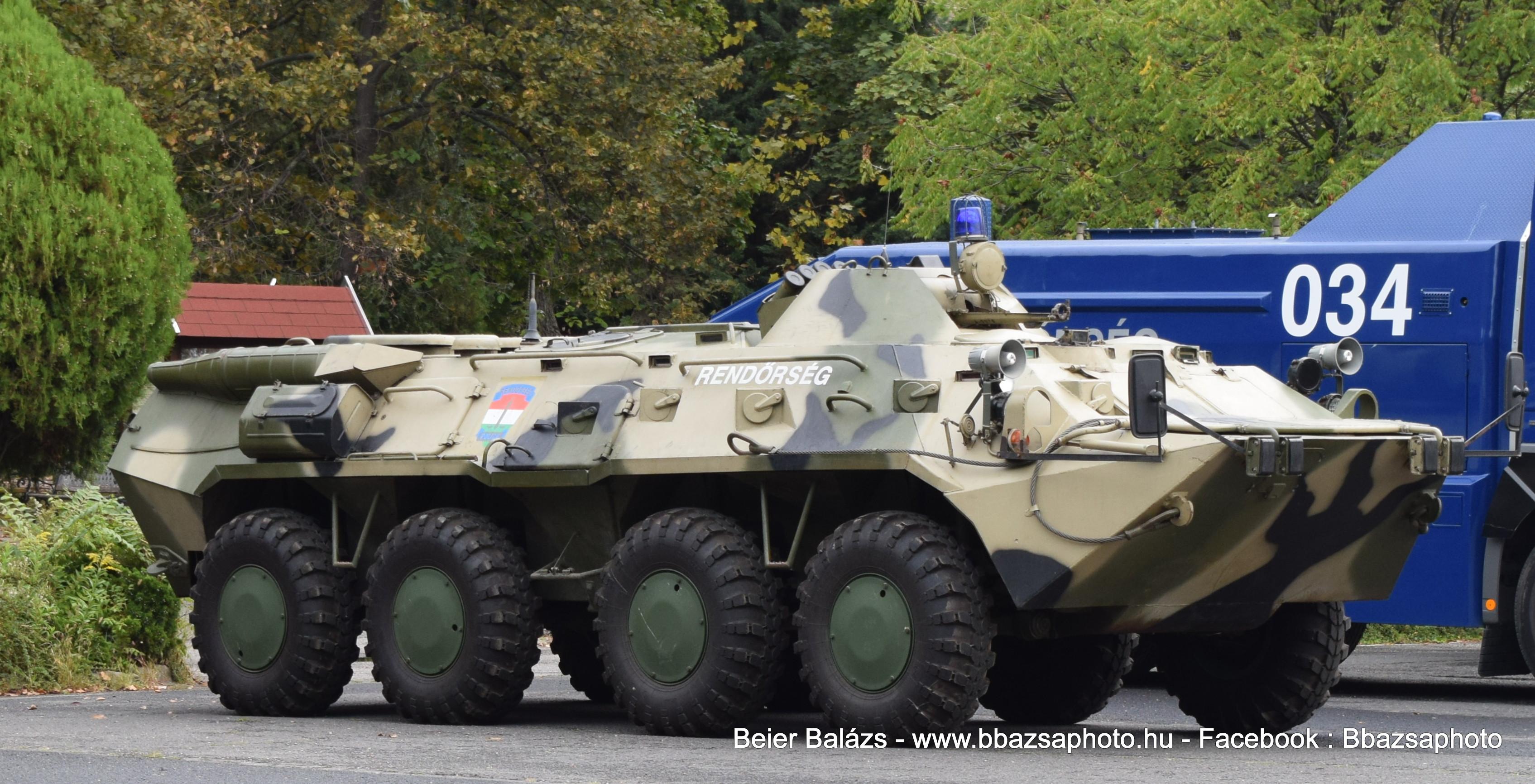 BTR – Készenléti Rendőrség