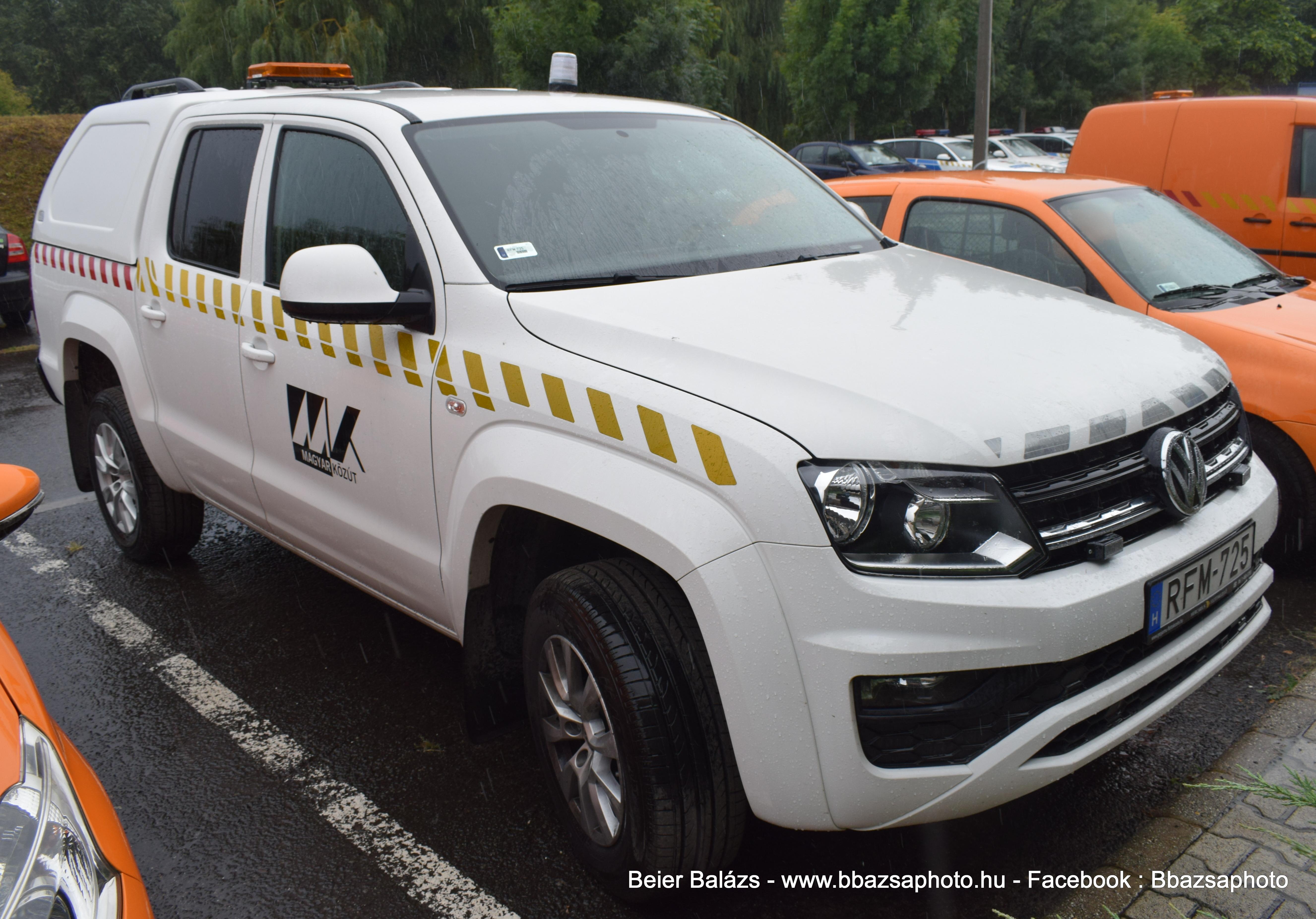Volkswagen Amarok – Magyar Közút