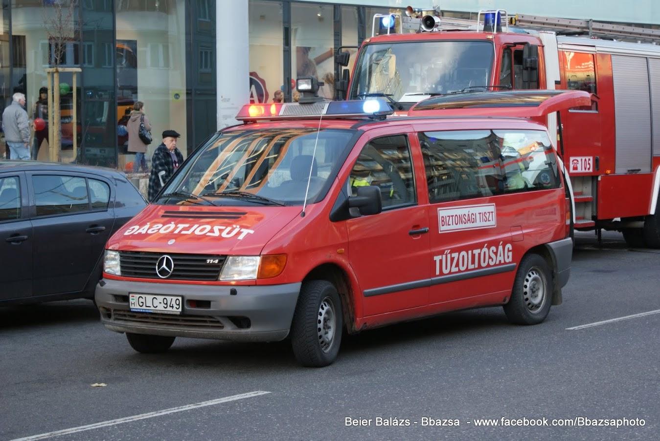 Mercedes Vito – Biztonsági tiszt