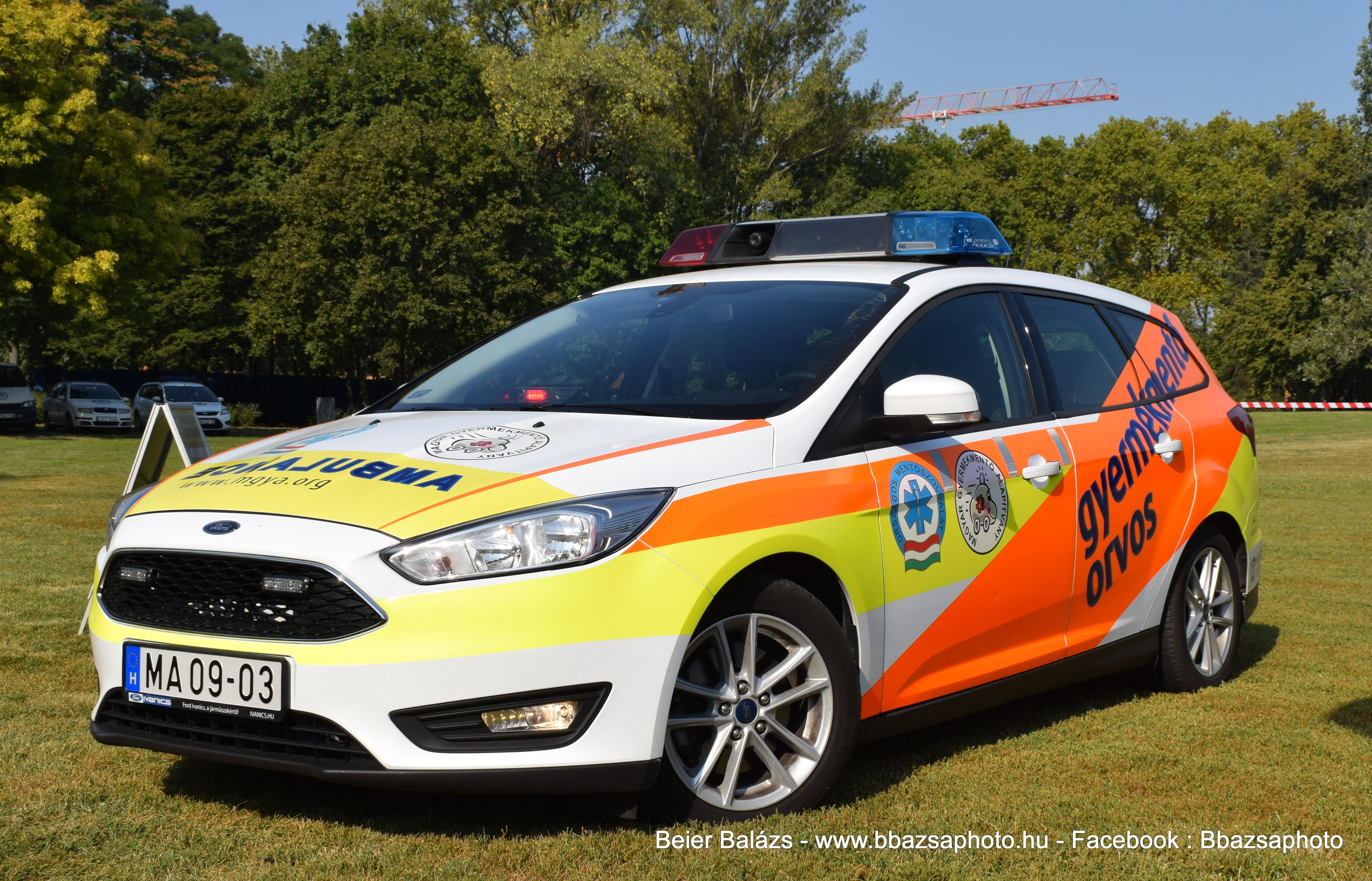 Ford Focus – Magyar Gyermekmentő alapítvány MA09-03