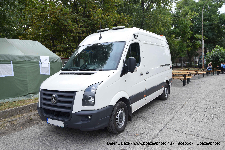 Volkswagen Crafter – delegációs mentő
