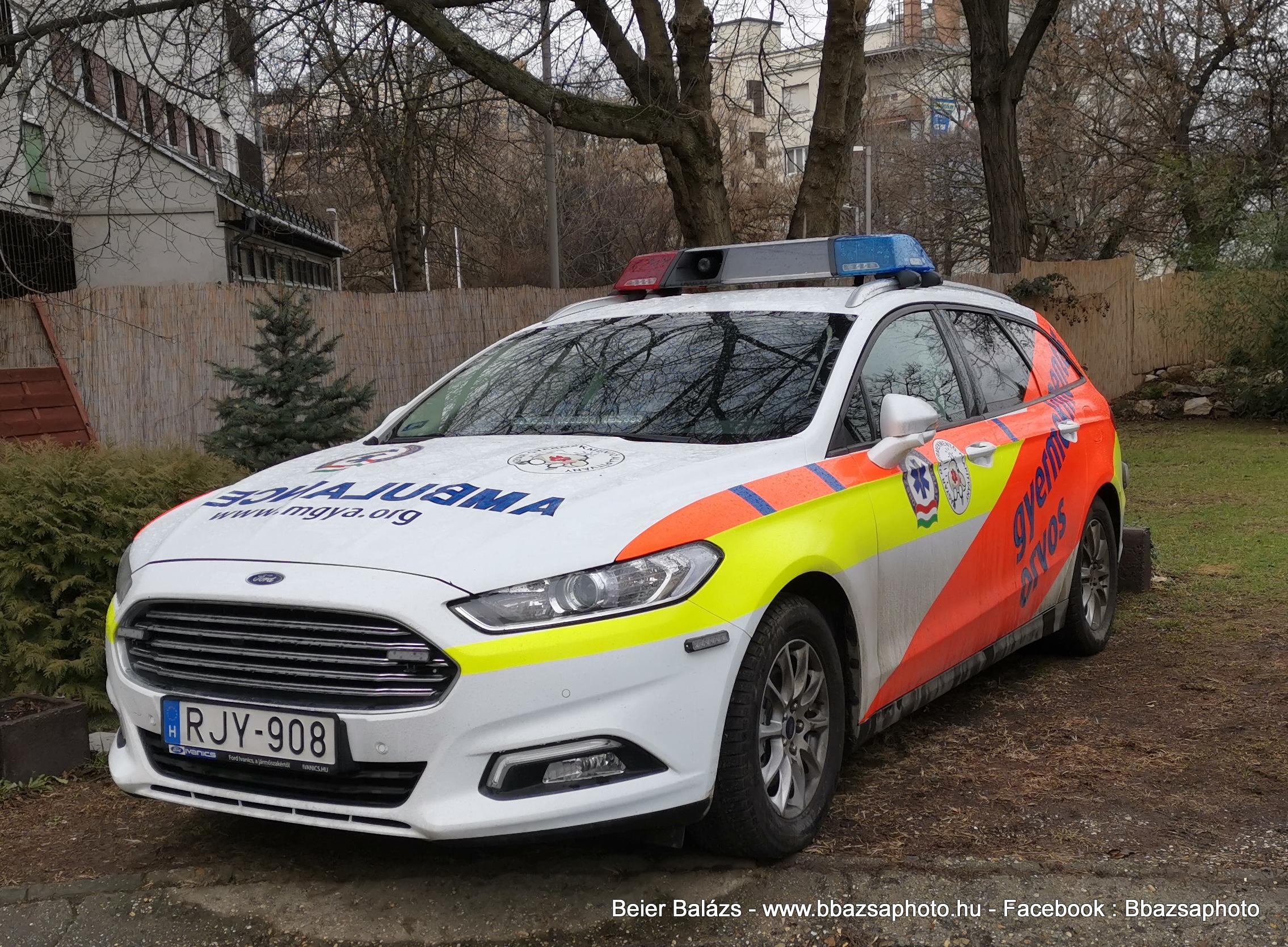 Ford Mondeo – Magyar Gyermekmentő Alapítvány