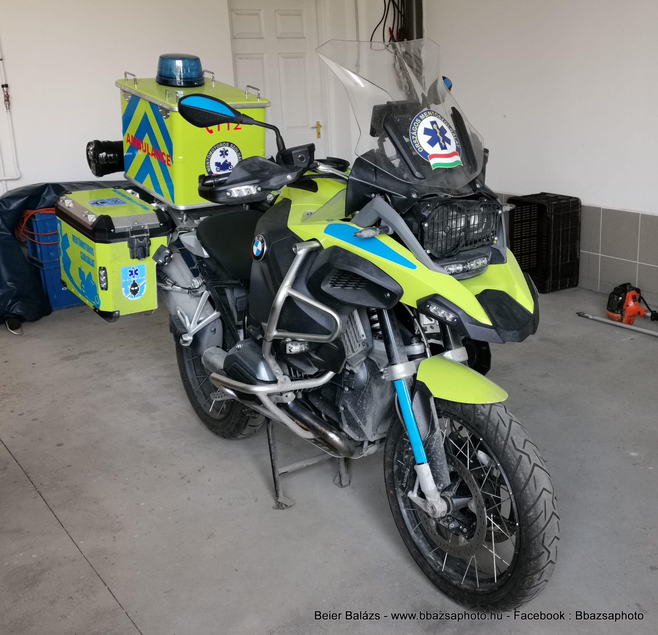 BMW – Magyar Mentőmotor alapítvány