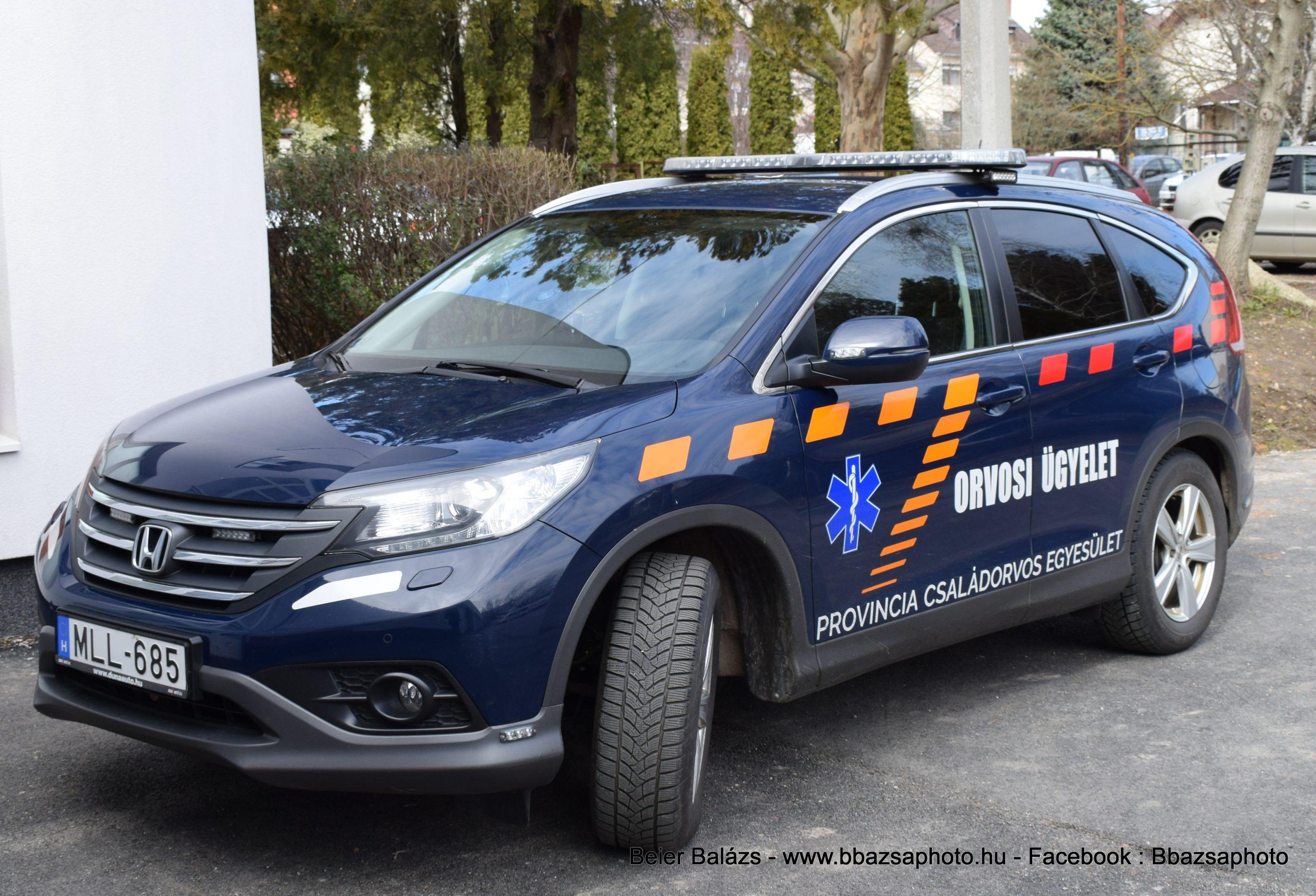 Honda CR-V Vác orvosi ügyelet