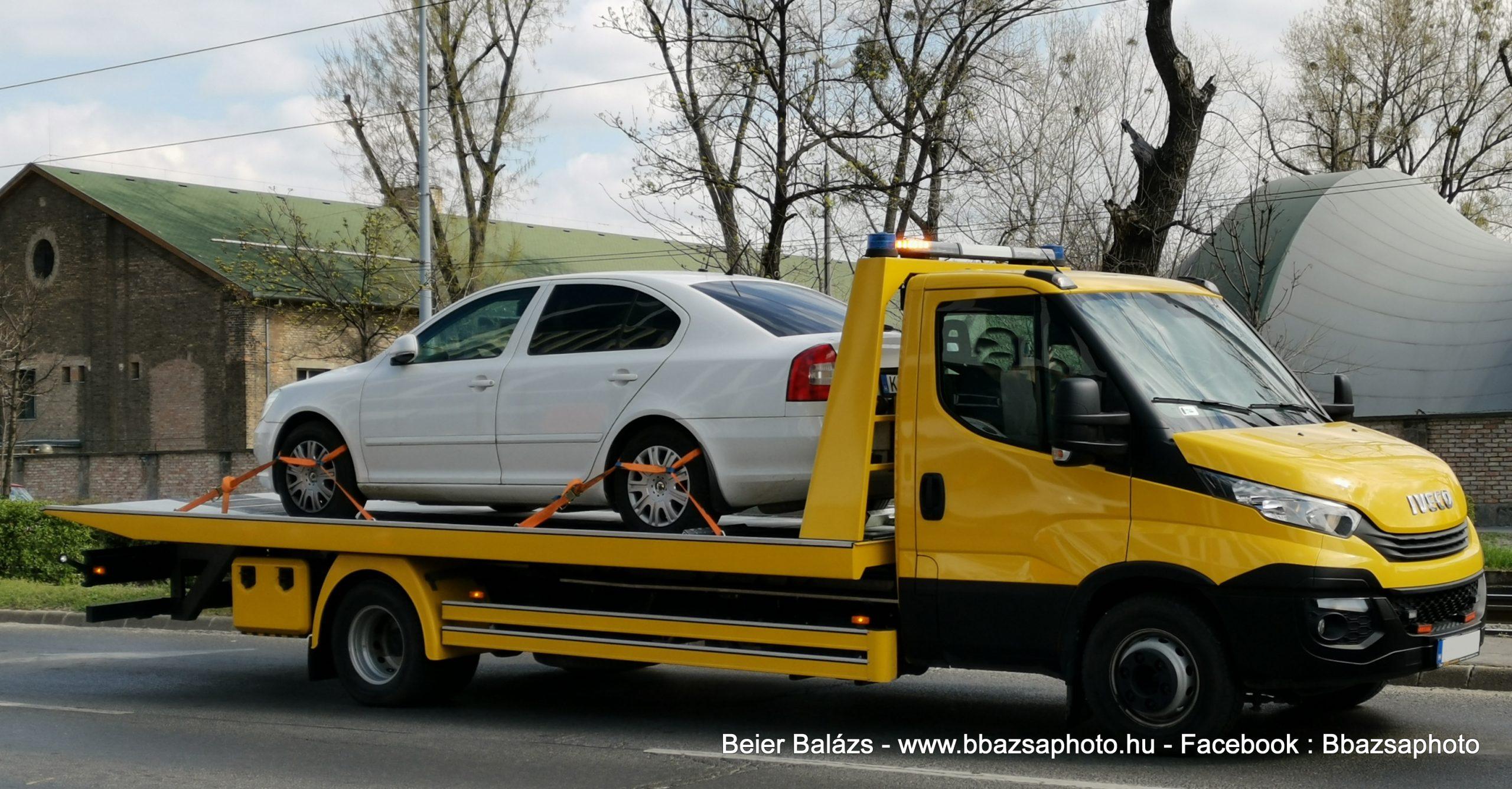 Iveco Daily – Autószállító