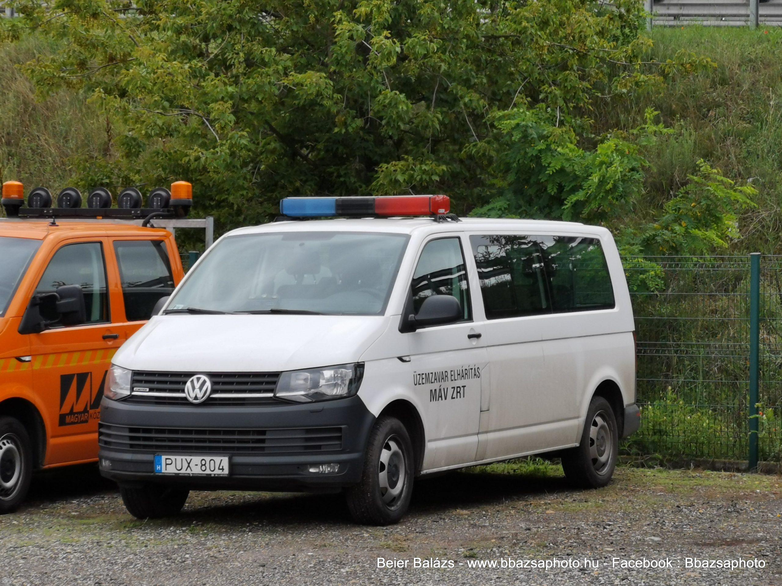 Volkswagen Transporter T6 – MÁV