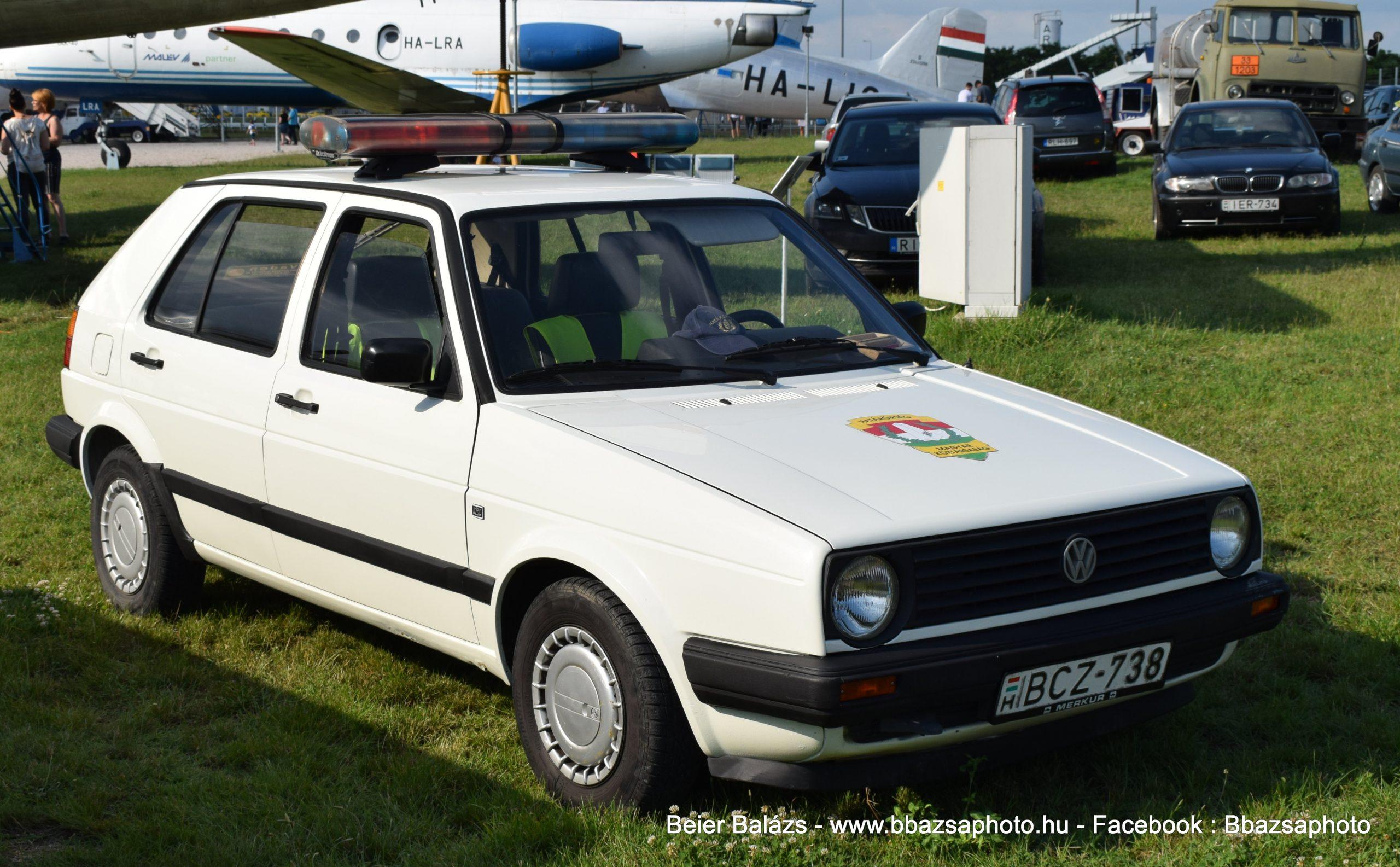 Volkswagen Golf – Határőrség Aeropark