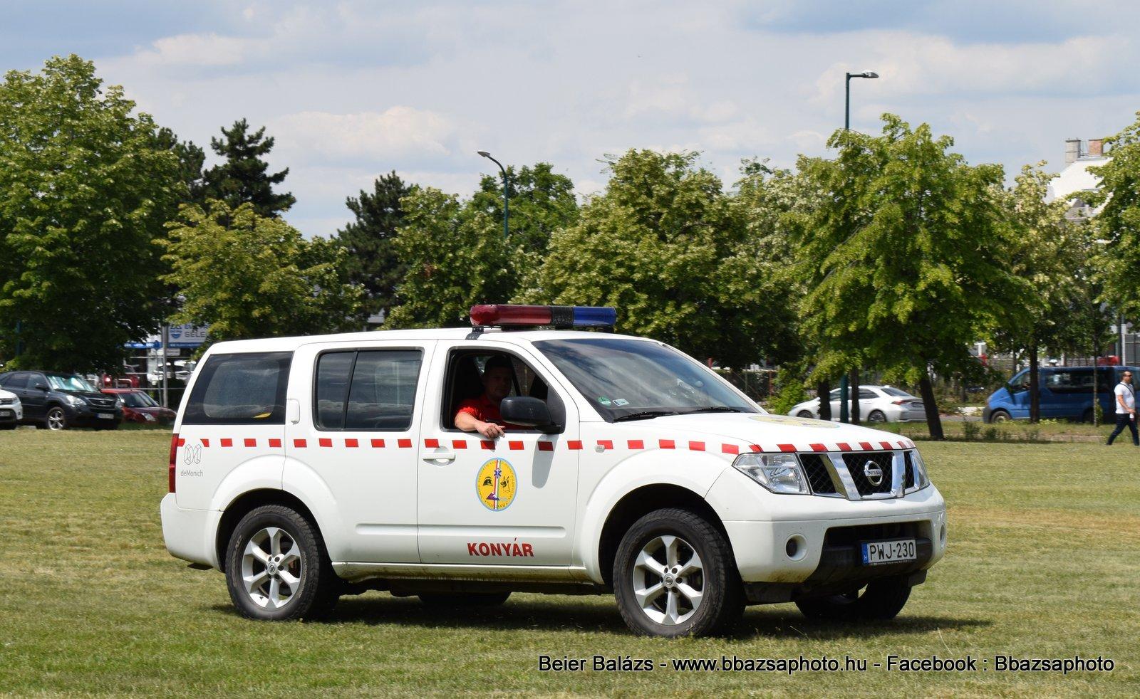 Nissan Pathfinder – Konyár
