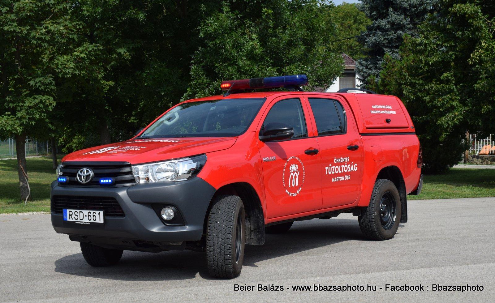 Toyota Hilux – Martonvásár ÖTE