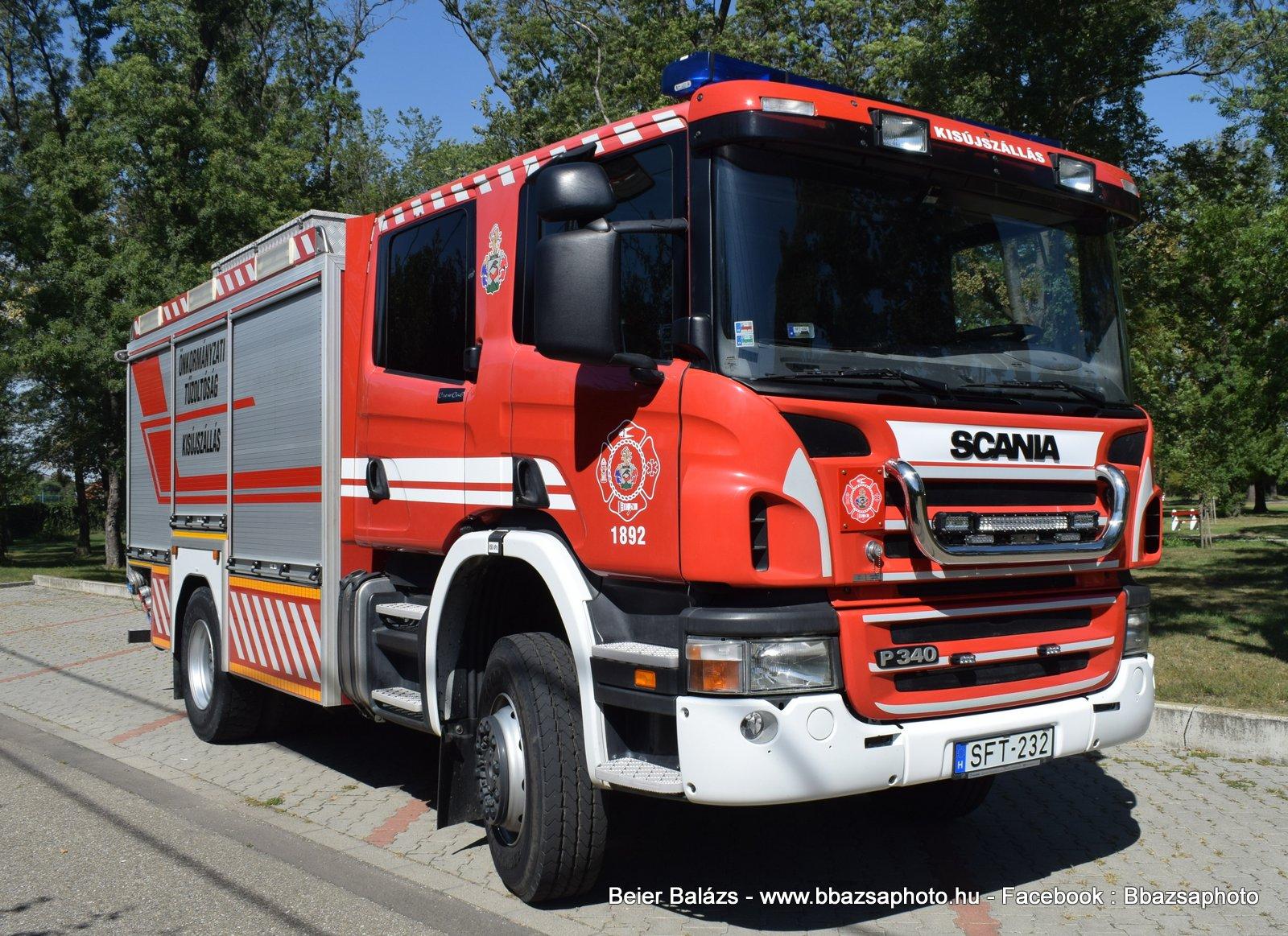 Scania P340 – Kisújszállás ÖTP
