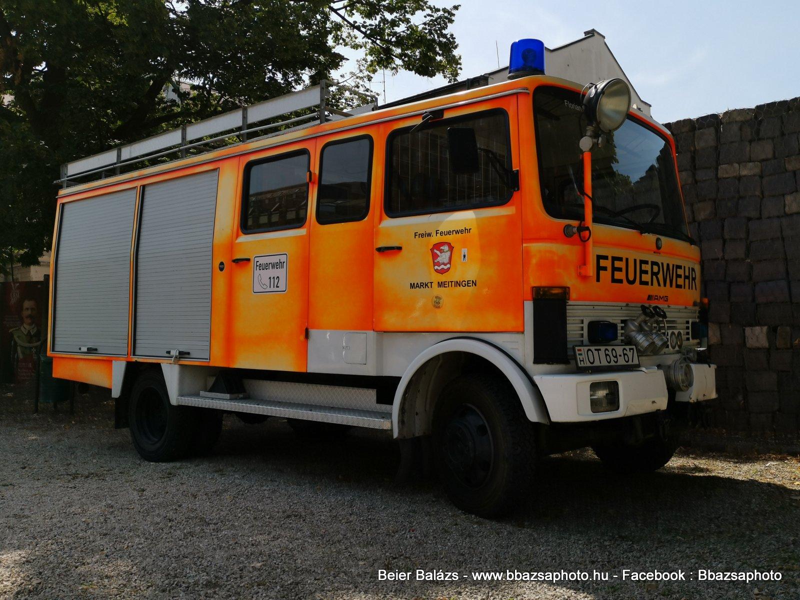 Mercedes OT Tűzoltó