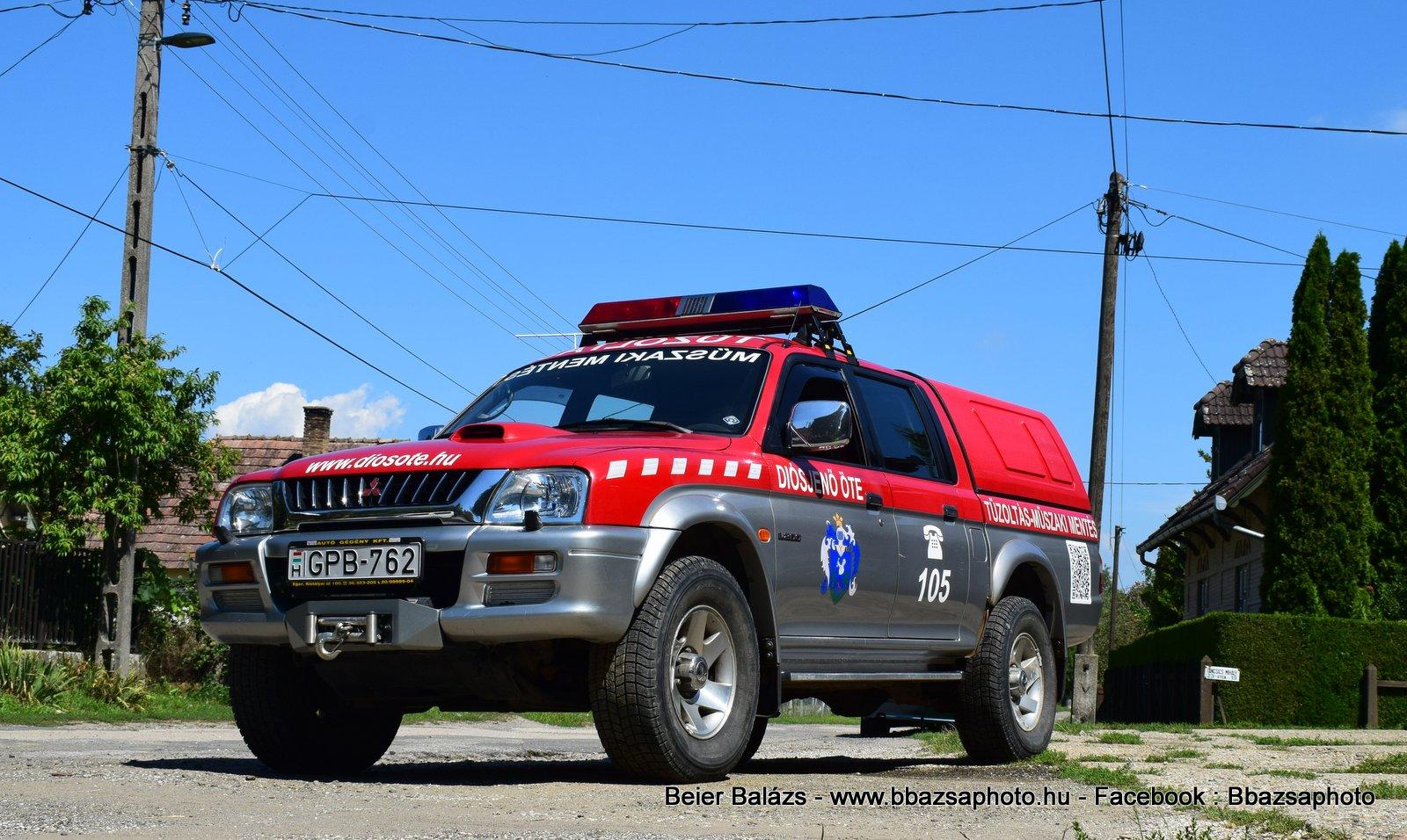 Mitsubishi L200 – Diósjenő ÖTE