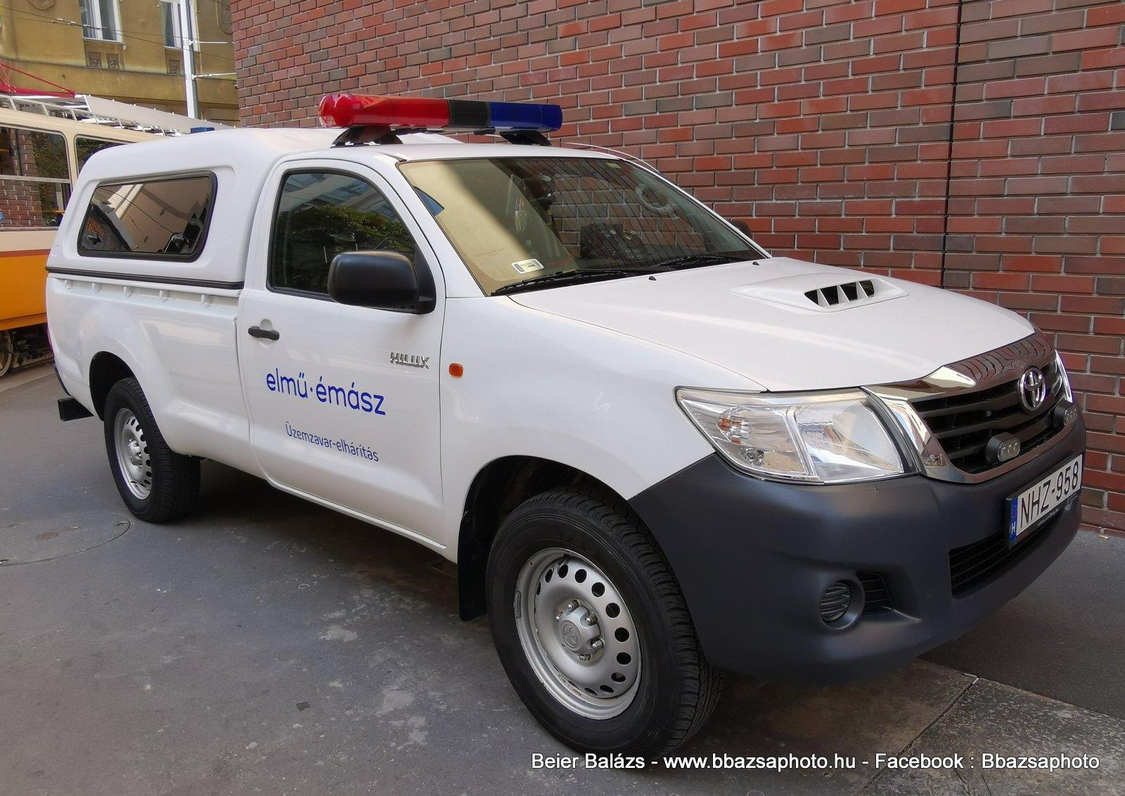 Toyota Hilux – NHZ Elmű / Émász
