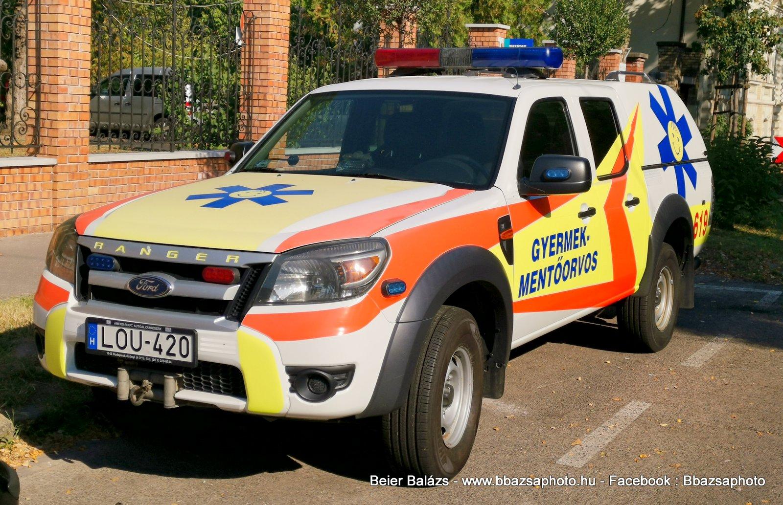 Ford Ranger – Sznt Márton gyermekmentő  619