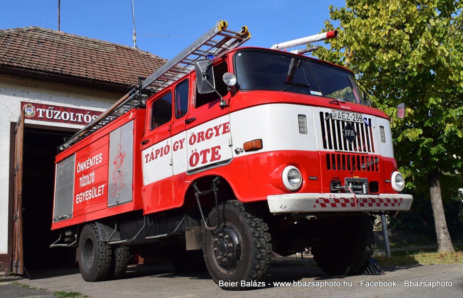 IFA W50 – Tápiógyörgye ÖTE