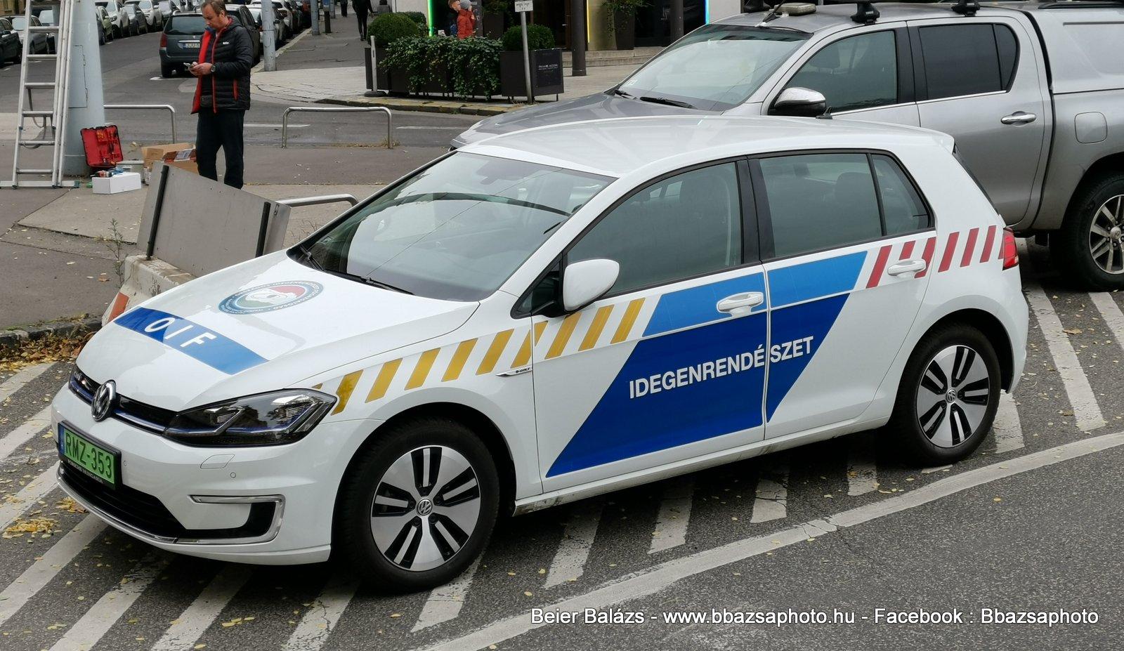Volkswagen e-Golf – Idegenrendészet