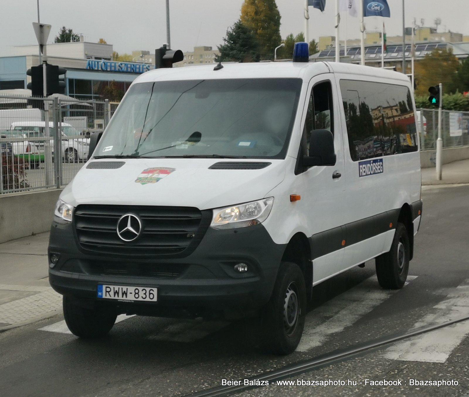 Mercedes Sprinter III csapat