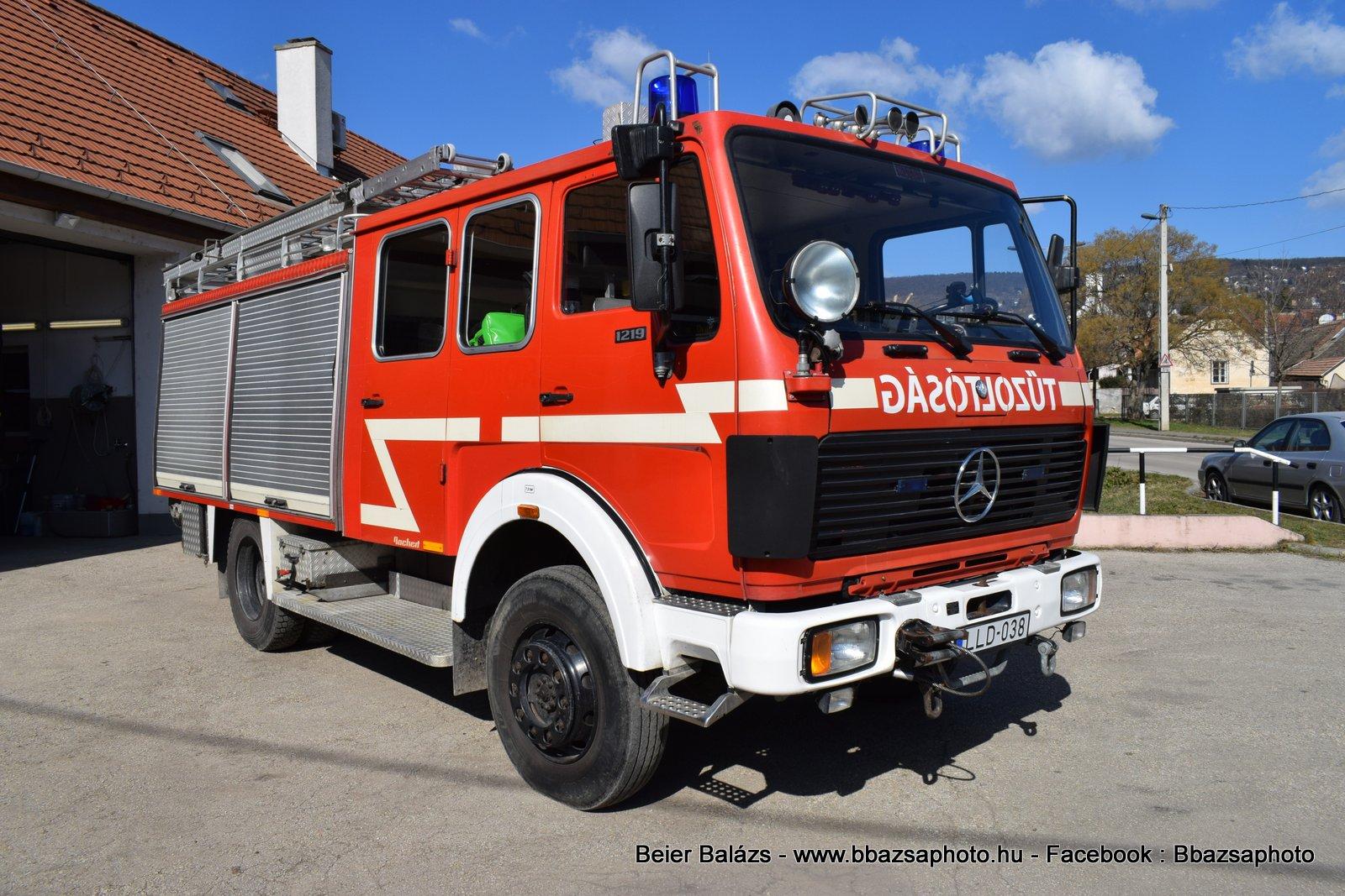 Mercedes 1219 – Budaörs ÖTE