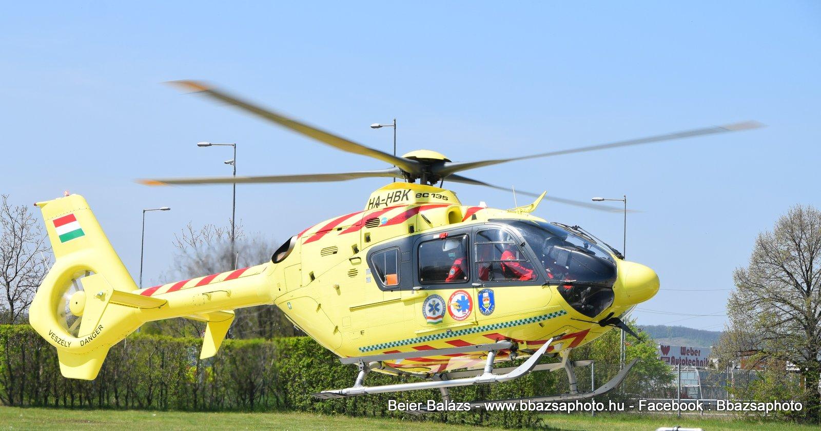 Eurocopter EC135 P2+ – Légimentők ( KR)  – ex Norvég II