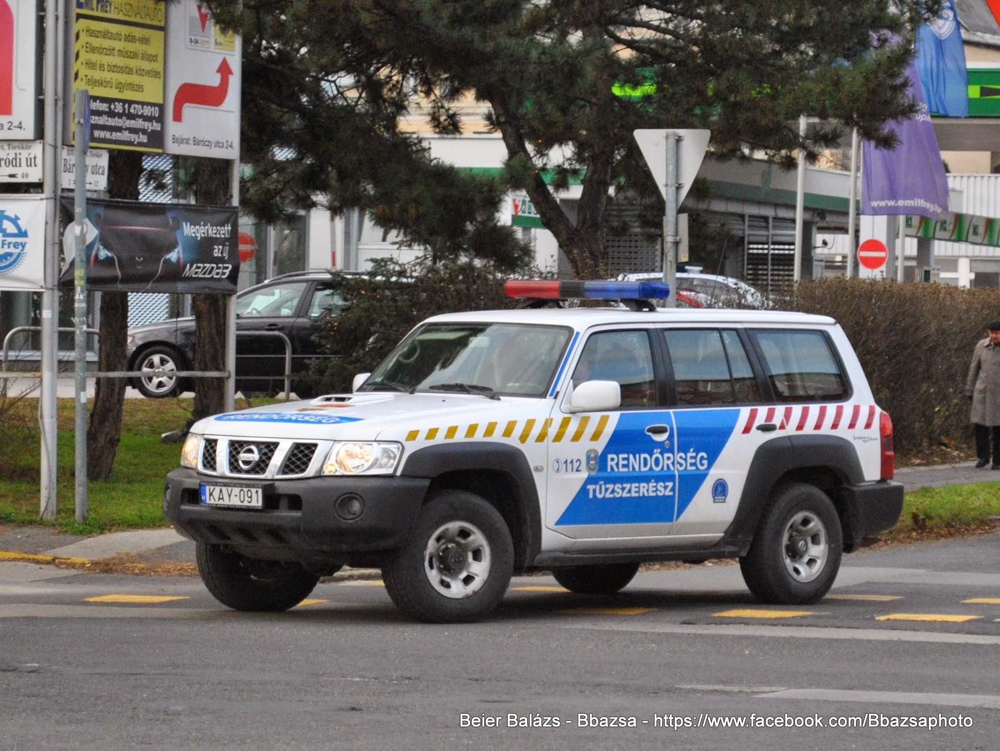 Nissan Patrol – Tűzszerész
