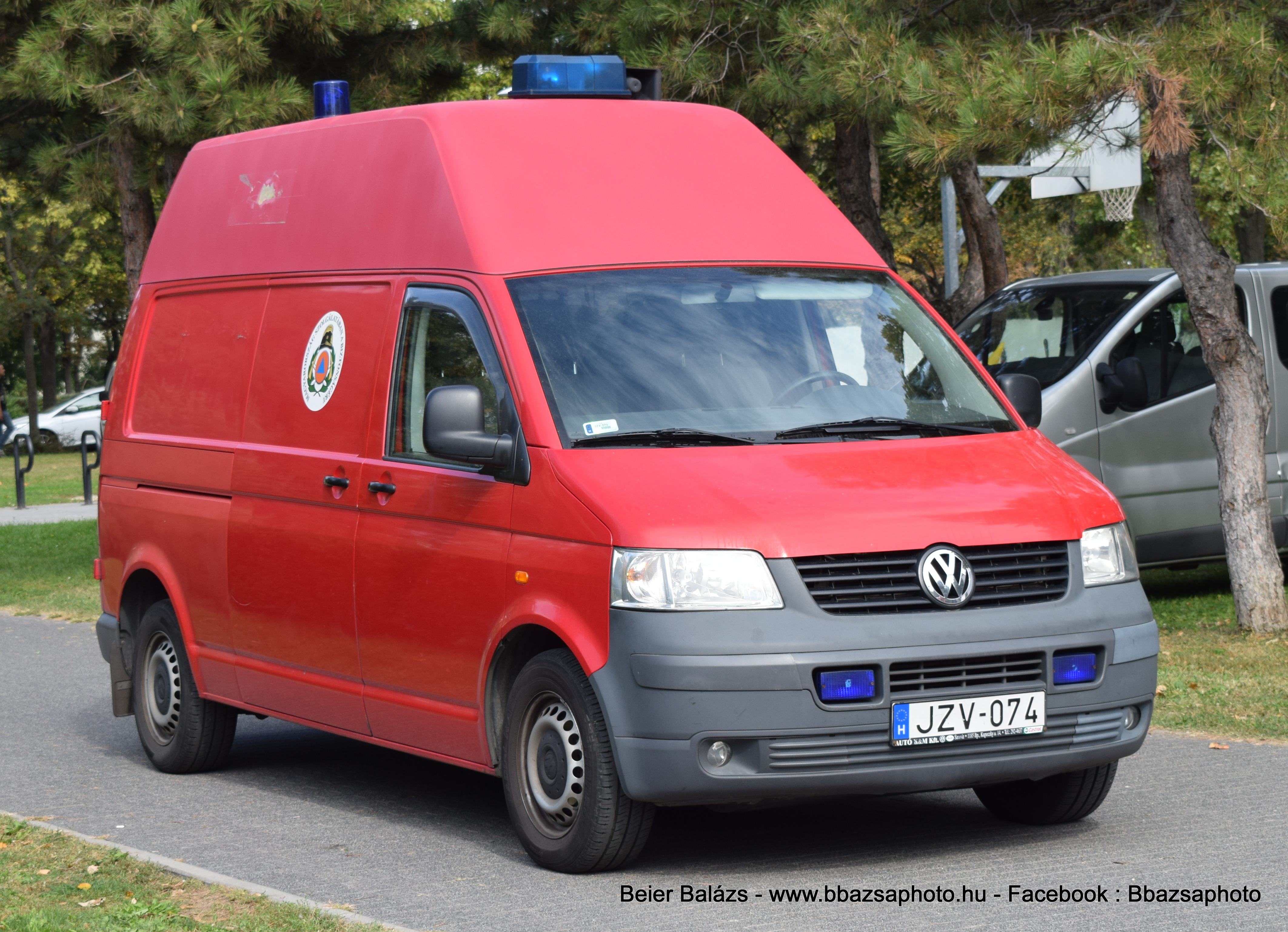 Volkswagen Transporter T5 – teher Tűzoltóság