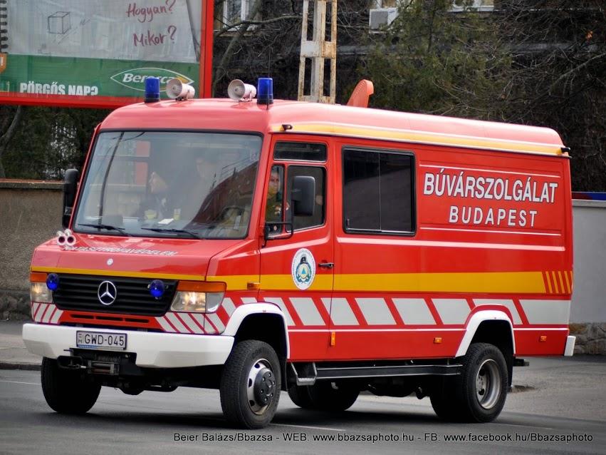 Mercedes Vario 814 D – Búvárszolgálat új dekor