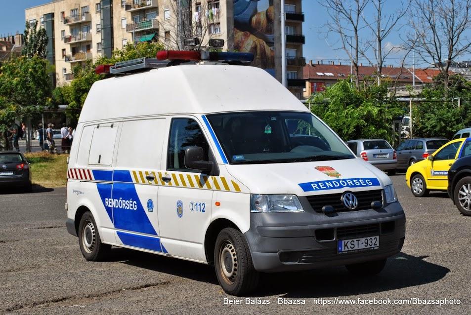 Volkswagen Transporter – Helyszínelő dupla mkj
