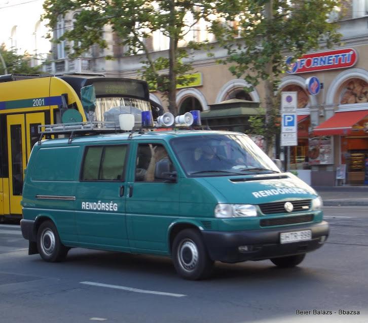 Volkswagen Transporter – Hőkamera volt Határőrség