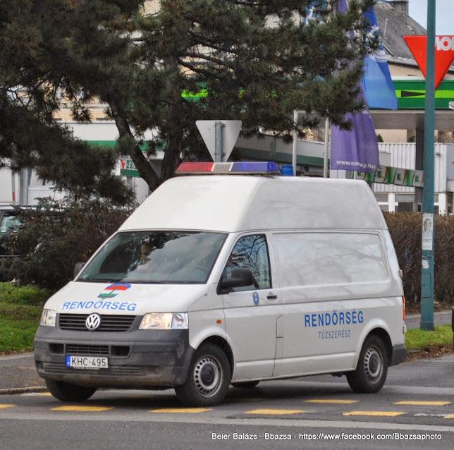 Volkswagen Transporter magas – Tűzszerész