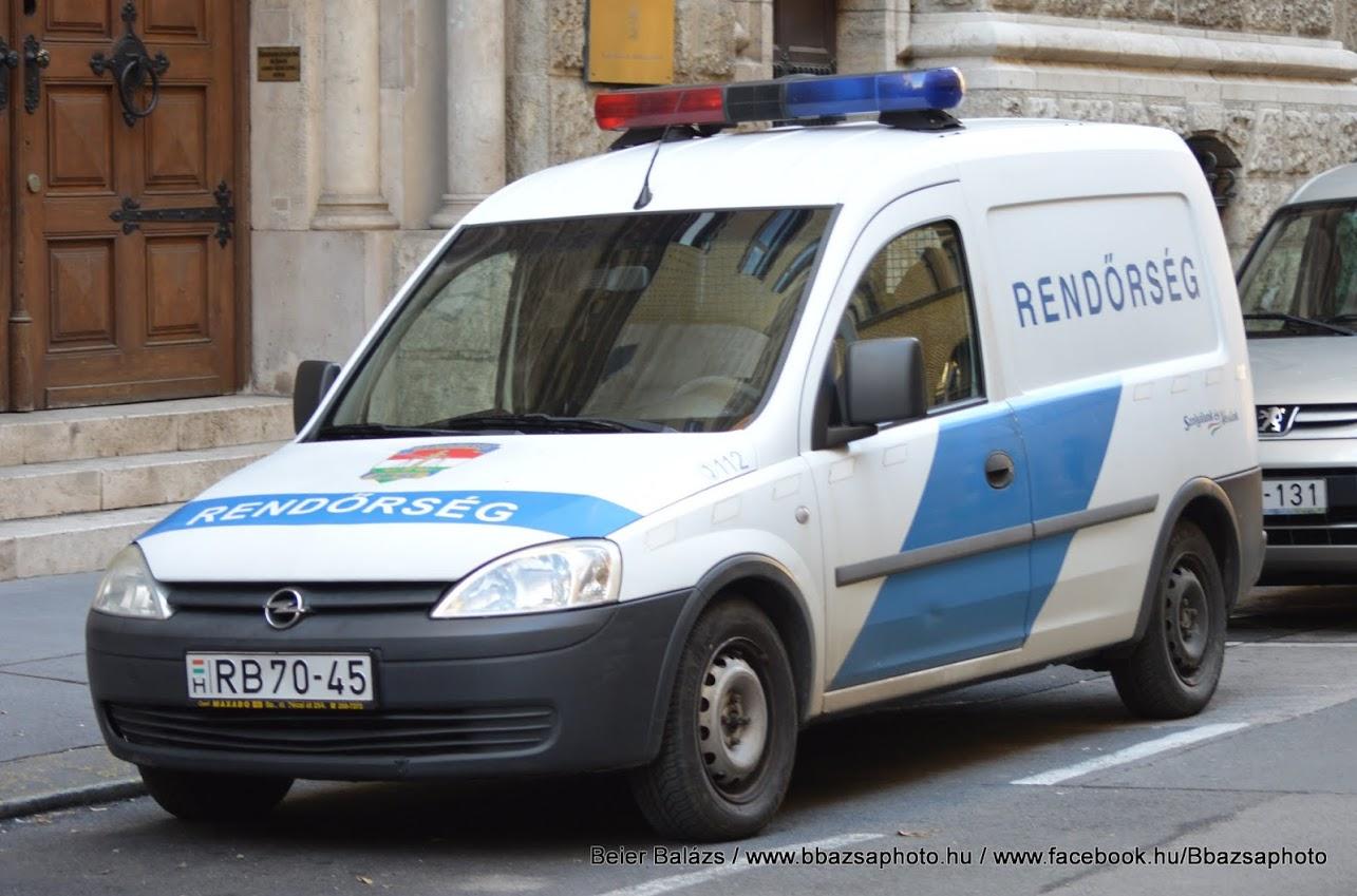 Opel Combo Federal piros/kék